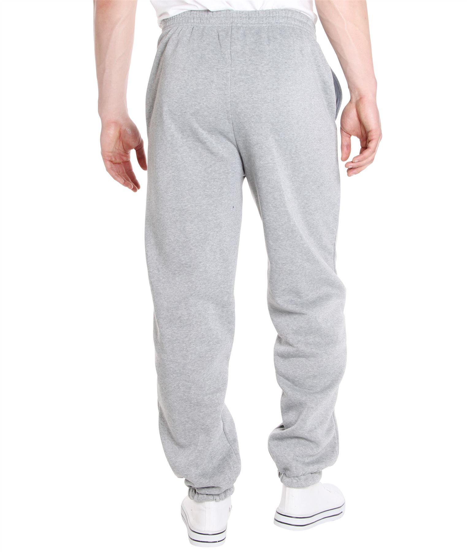 Homme-Pantalon-Double-Polaire-Survetement-Bas-Jogging-Decontracte-Sport-Gym miniature 7