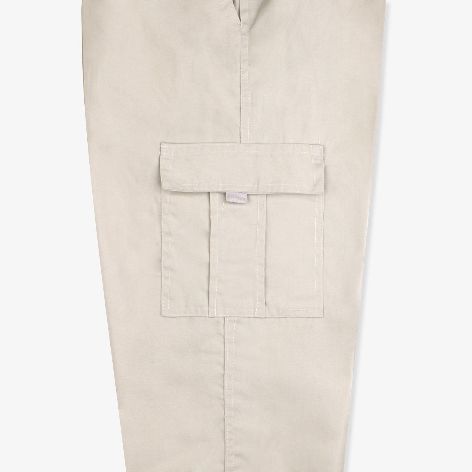 Pantalon-Homme-Cargo-Militaire-Ample-Poche-Grande-Taille-Elastique-Travail miniature 16