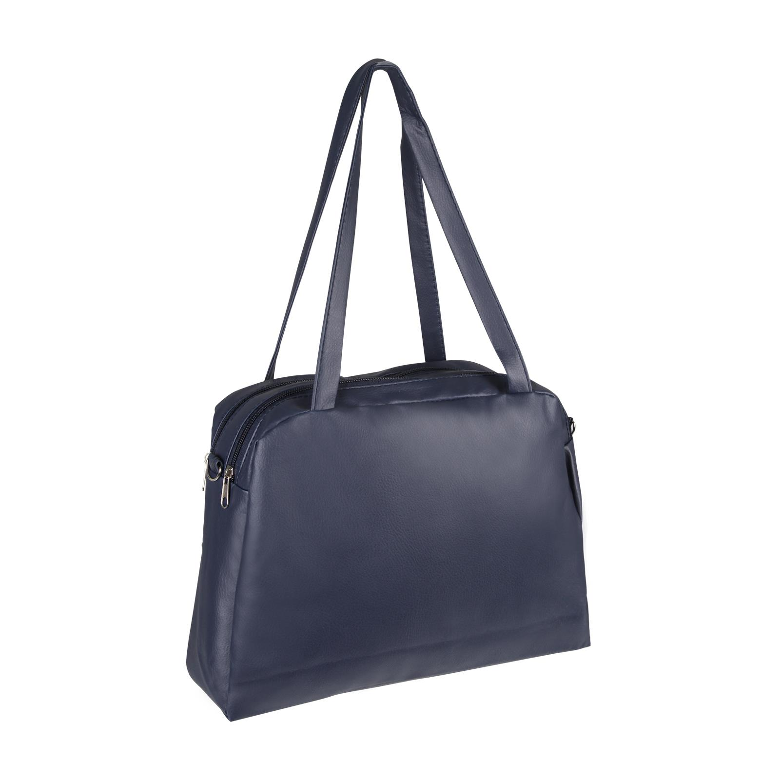 Medium-Handbag-Shoulder-Bowler-Bag-Vegan-Leather-Tote-Shop-Office-Work-Fashion thumbnail 7