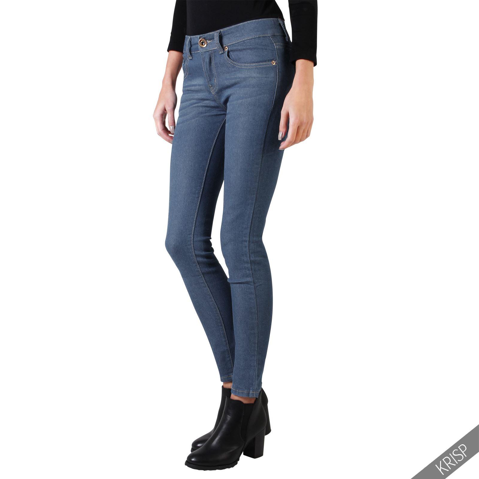 krisp london sale damen jeans stretch denim slim skinny. Black Bedroom Furniture Sets. Home Design Ideas