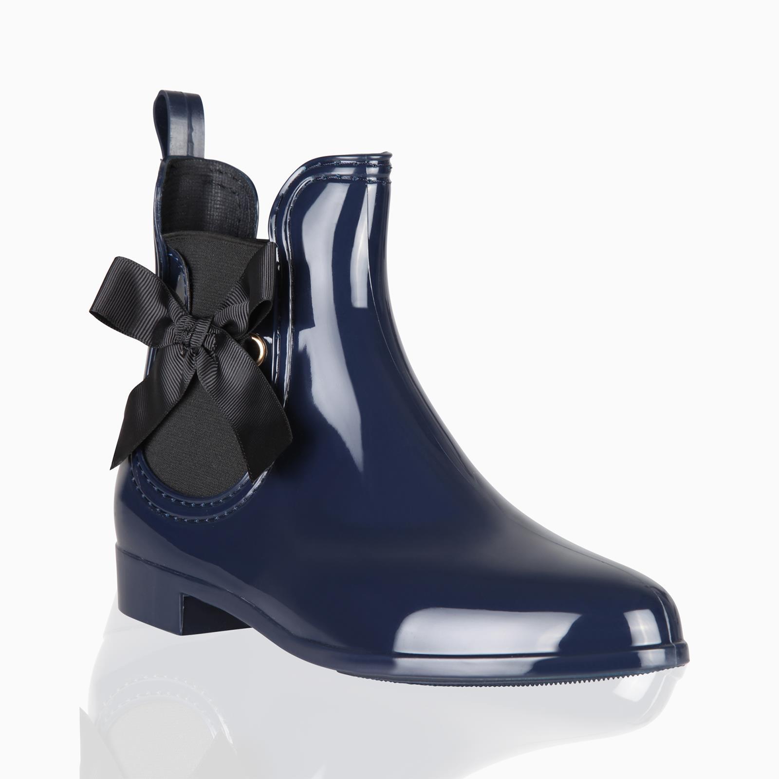 Botas-Agua-Mujer-Barata-Original-Botines-Moda-Comodas-Calzado-Elastico-Juveniles miniatura 5