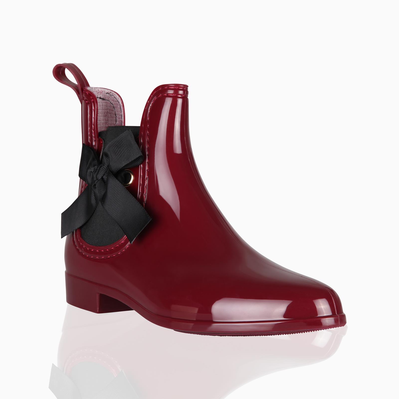 Botas-Agua-Mujer-Barata-Original-Botines-Moda-Comodas-Calzado-Elastico-Juveniles miniatura 15