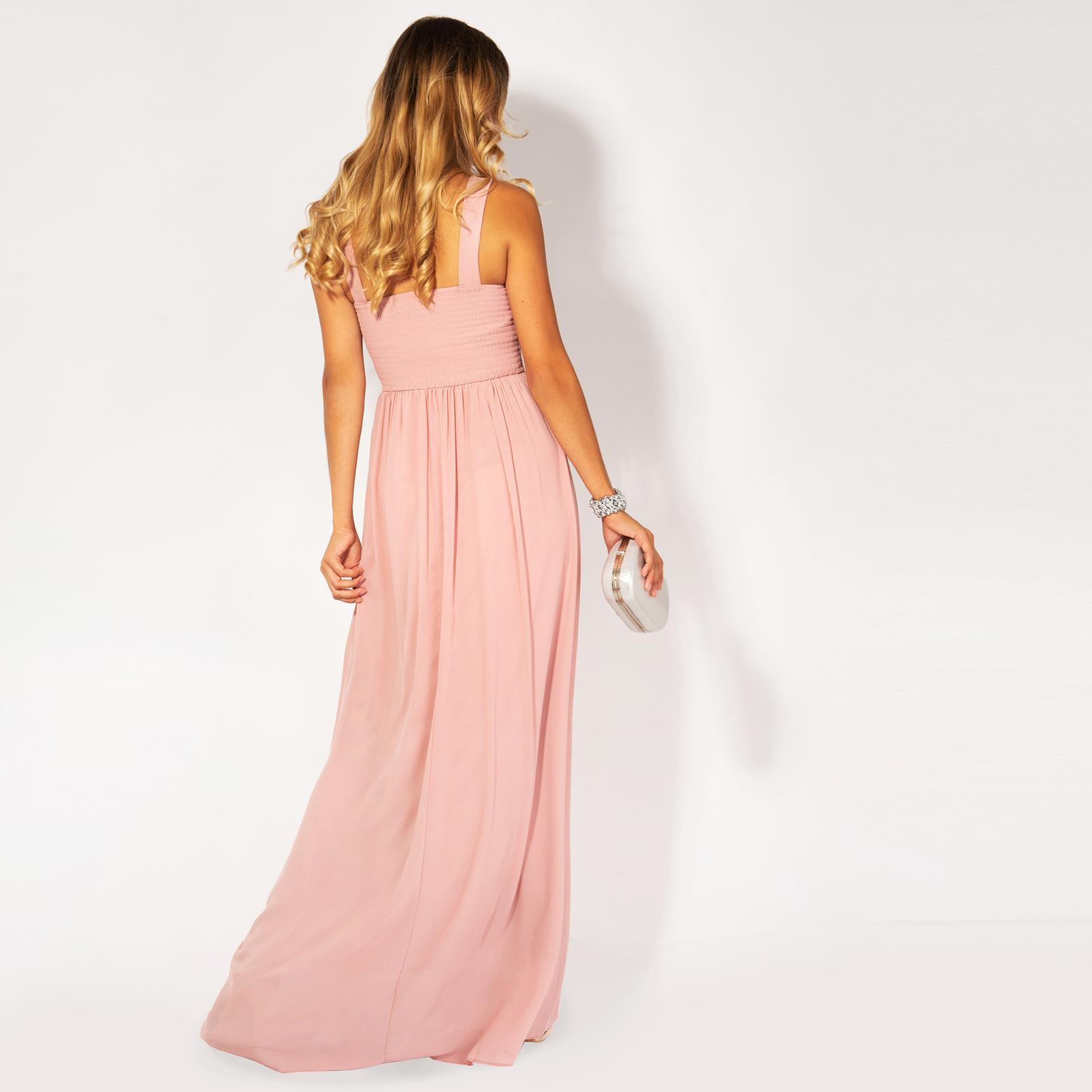 Womens-Formal-Maxi-Wedding-Bridesmaid-Prom-Dress-Cocktail-Long-Ball-Gown-Party thumbnail 4