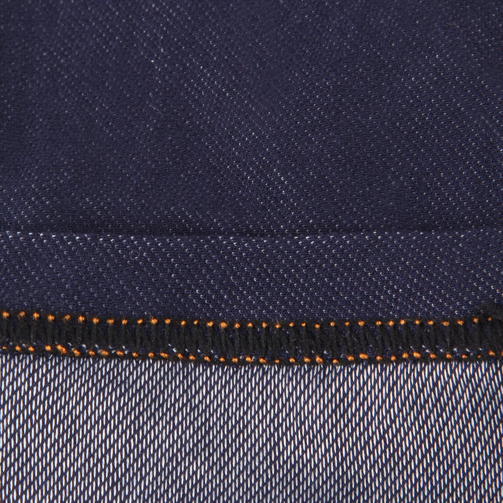 Jegging-Taille-Haute-Femme-Jean-Stretch-Legging-Noir-Bleu-Poche-Extensible-Mode miniature 4