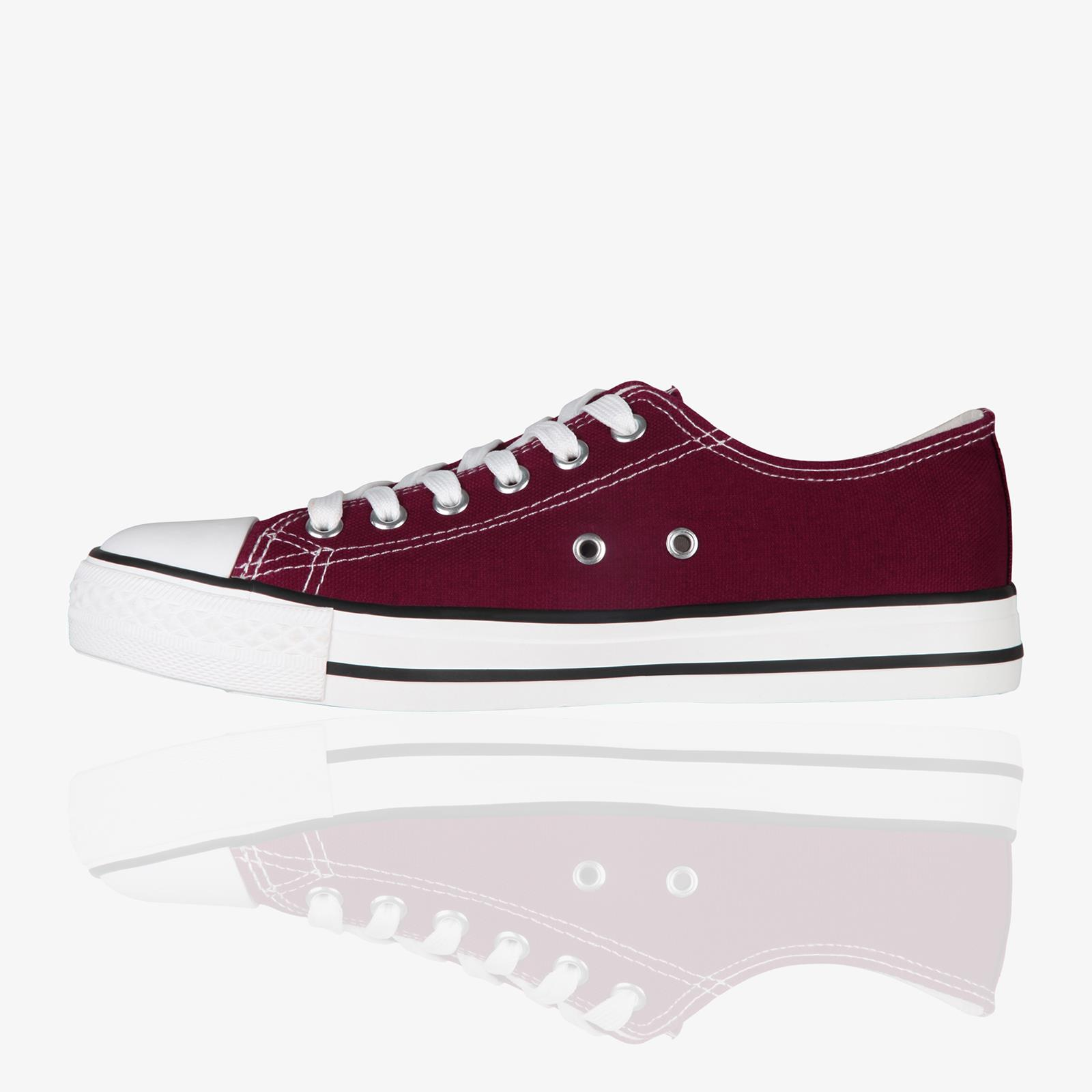 Zapatillas-Mujer-Casuales-Deportiva-Barata-Lona-Moda-Originales-Outlet-Tela-Moda miniatura 16