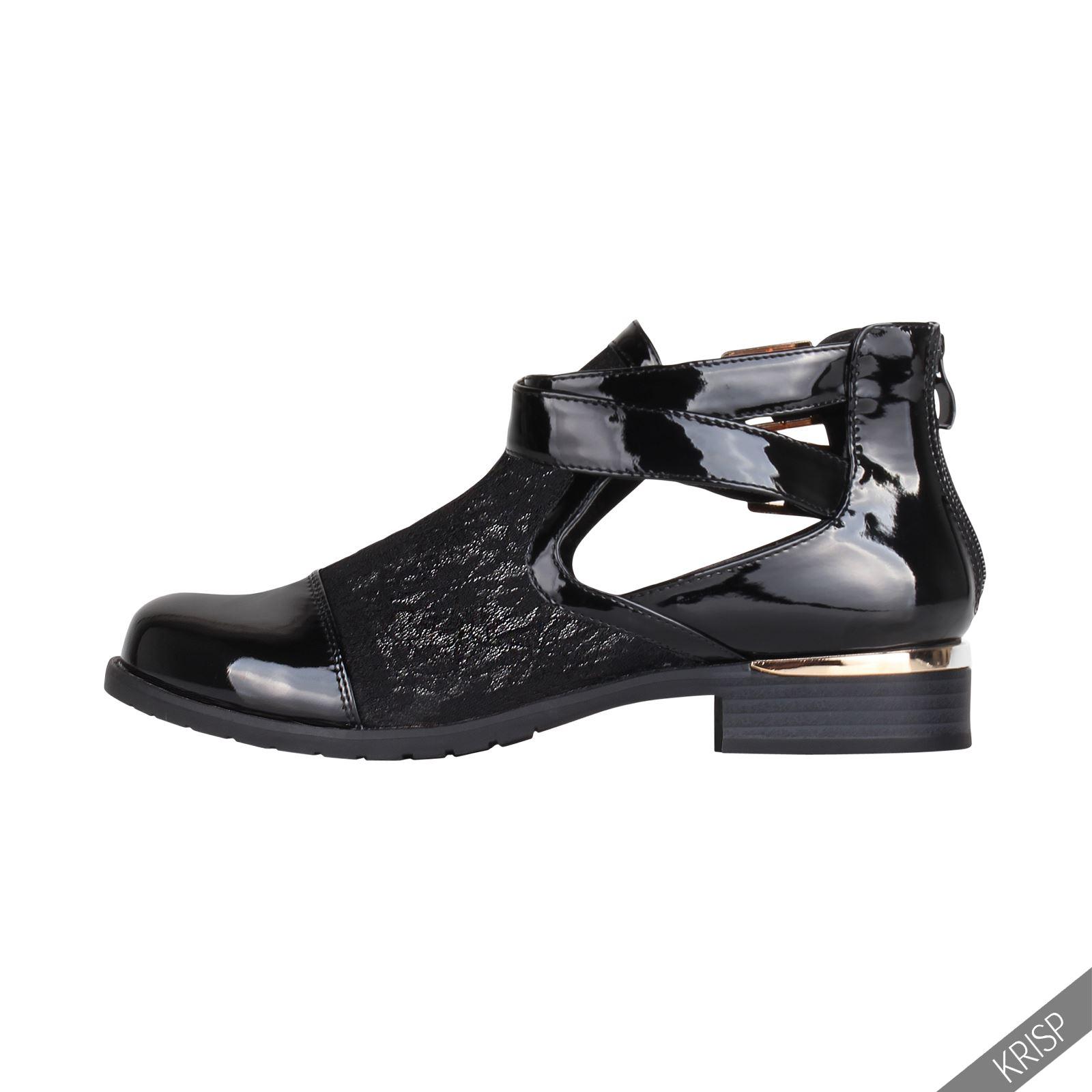 damen sommer schuhe hochglanz kunstleder boots offen fr hjahr spitze blockabsatz ebay. Black Bedroom Furniture Sets. Home Design Ideas