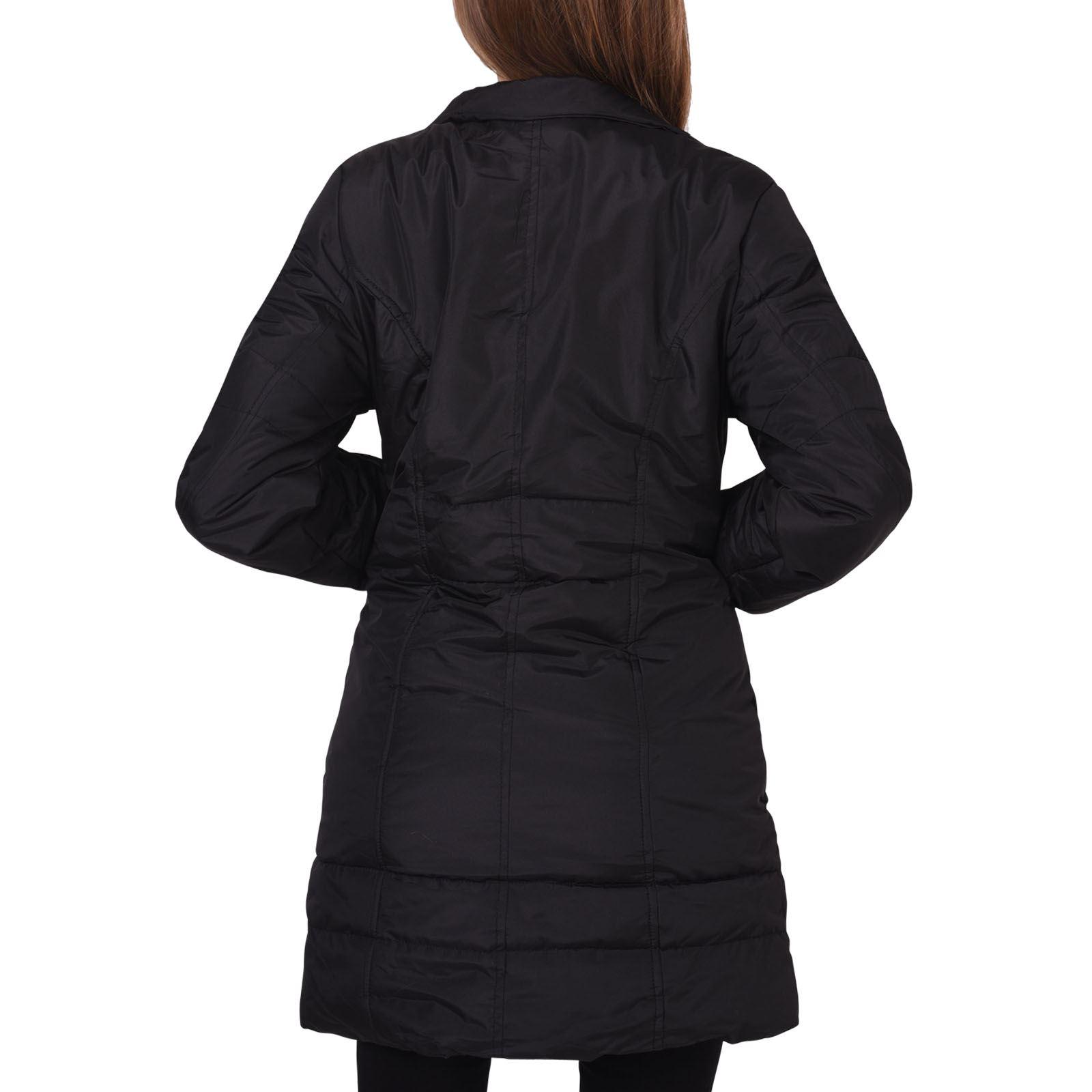 femmes manteau doudoune blouson jacket capuche fausse. Black Bedroom Furniture Sets. Home Design Ideas
