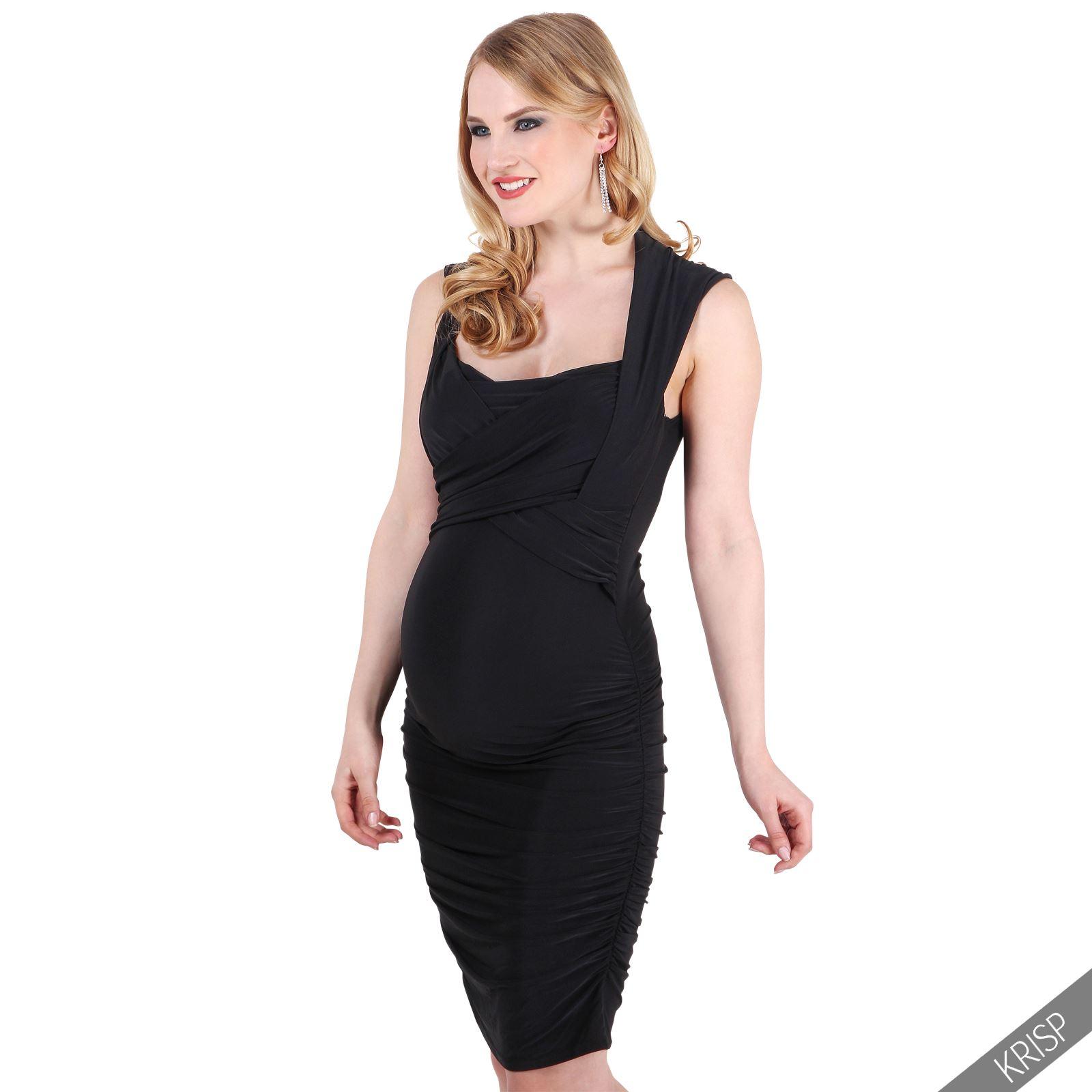 Damen Schwangerschaft Kleid Festliches Abendkleid Elegantes ...