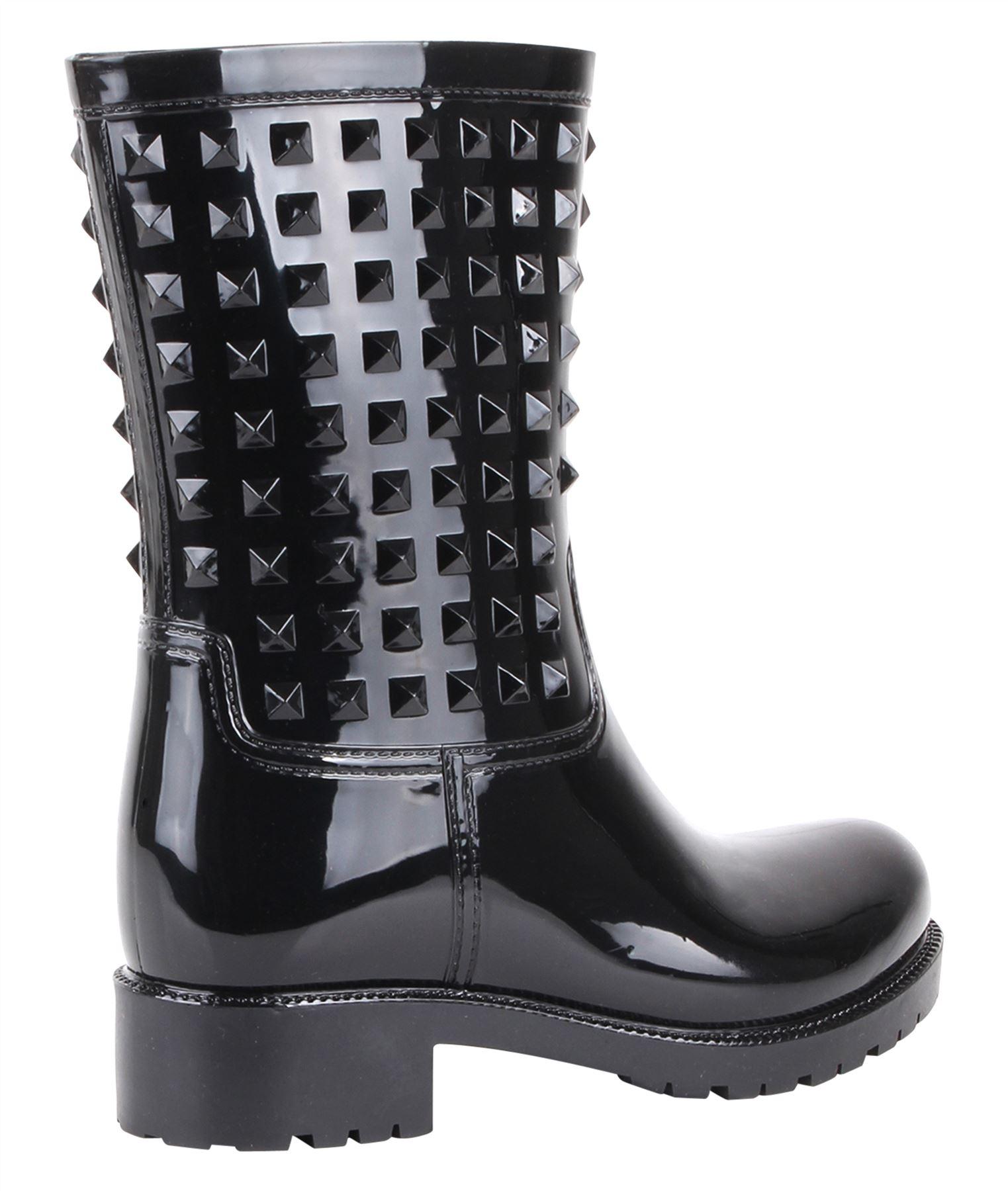 Botas-Agua-Mujer-Barata-Original-Botines-Moda-Comodas-Calzado-Elastico-Juveniles miniatura 26