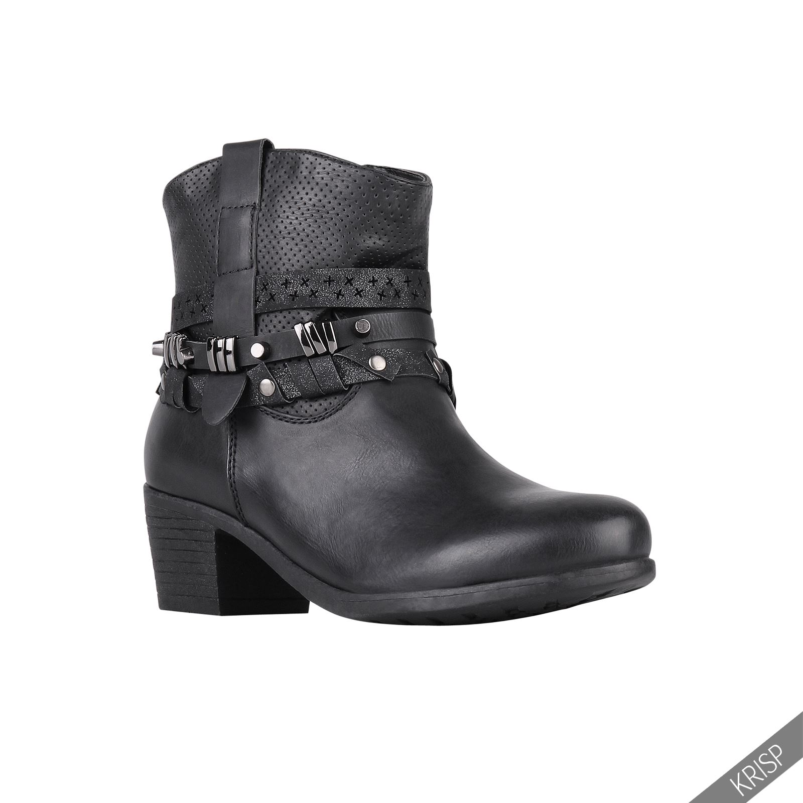 damen wildleder chealsea schuhe nieten design ankle boots niedriger absatz ebay. Black Bedroom Furniture Sets. Home Design Ideas