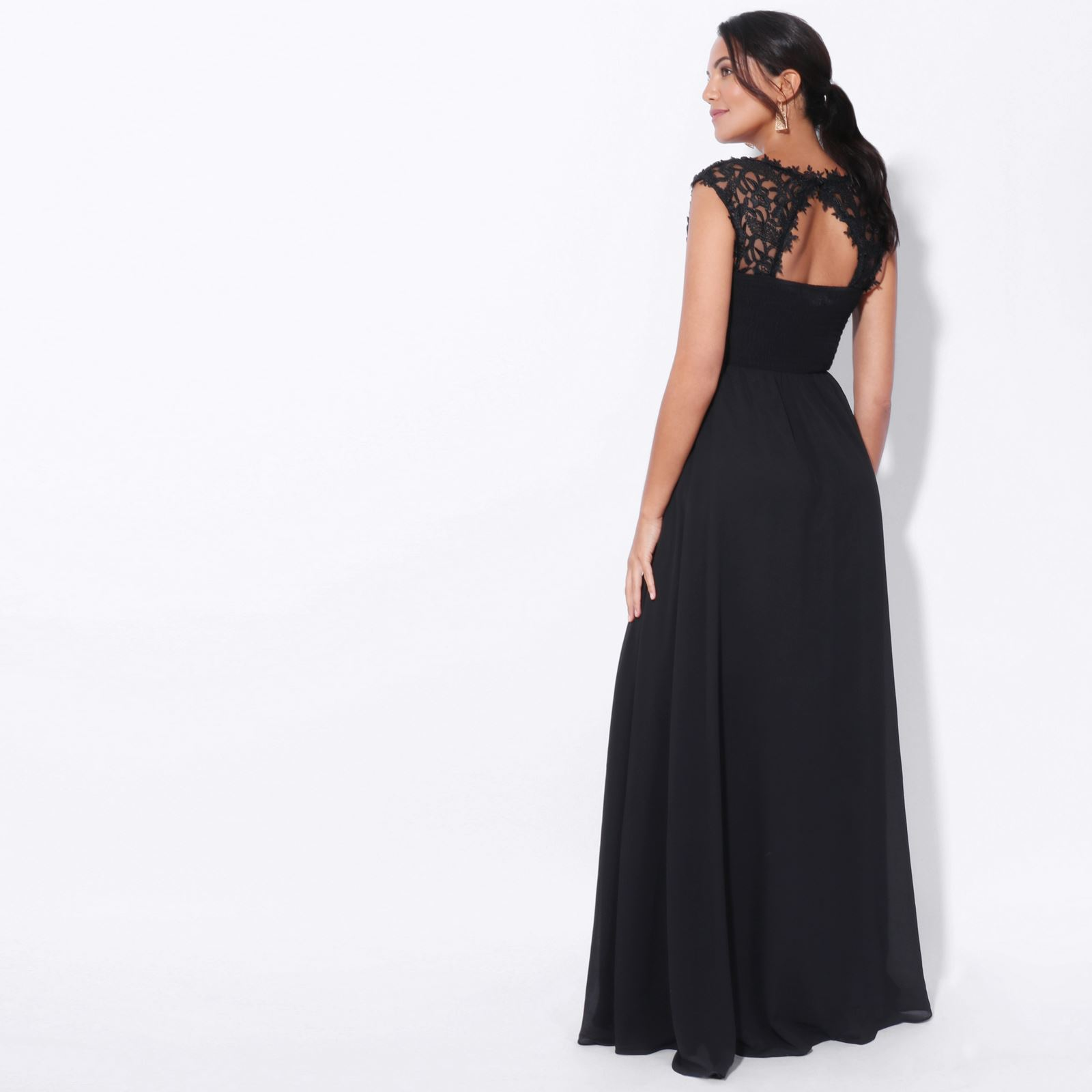 Womens-Wedding-Bridesmaid-Prom-Dress-Formal-One-Off-Shoulder-Long-Evening-8-18 thumbnail 11