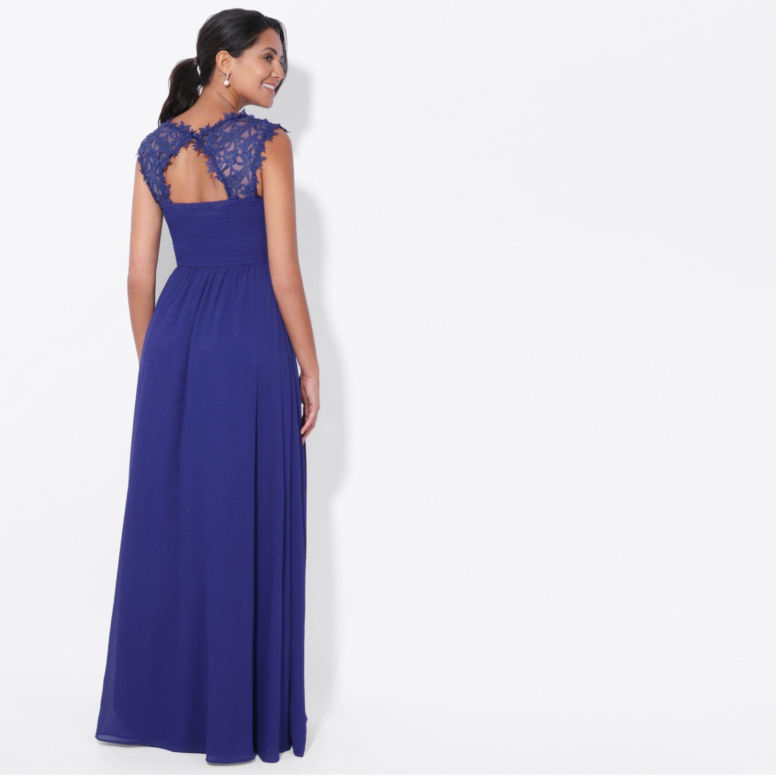 Womens-Wedding-Bridesmaid-Prom-Dress-Formal-One-Off-Shoulder-Long-Evening-8-18 thumbnail 63