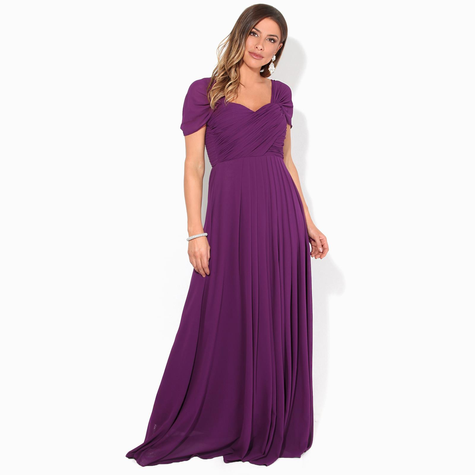 Womens-Formal-Evening-Wedding-Maxi-Prom-Dress-Long-On-Off-Shoulder-Ball-Gown thumbnail 44