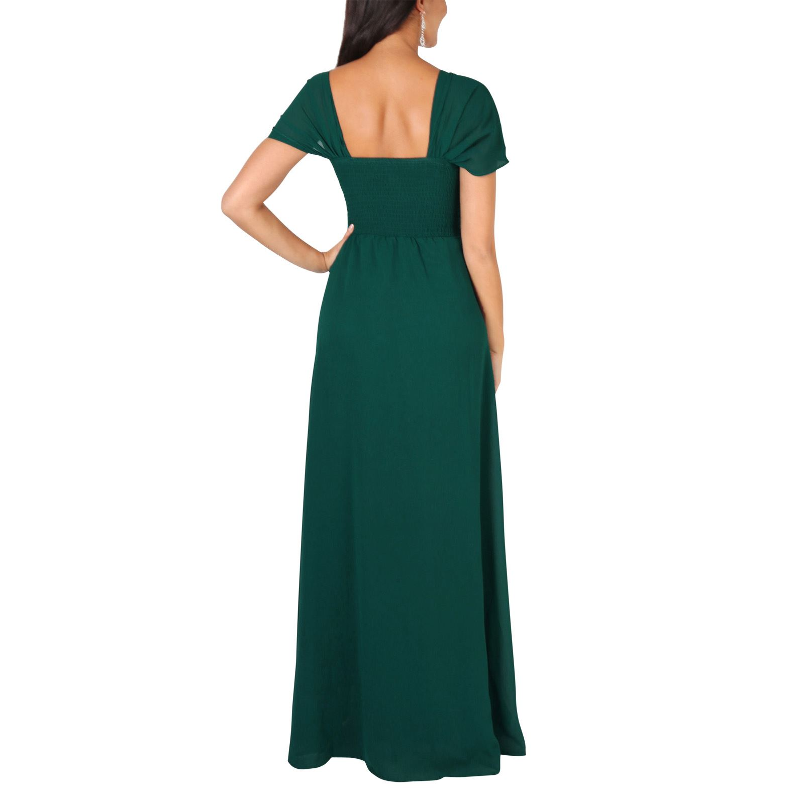 Womens-Formal-Evening-Wedding-Maxi-Prom-Dress-Long-On-Off-Shoulder-Ball-Gown thumbnail 21