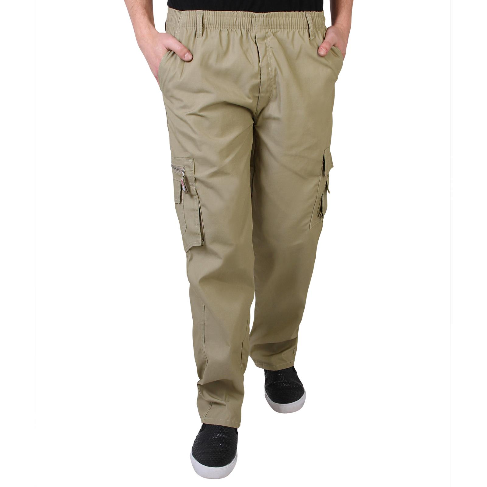 100% genuine first look buy cheap Buy Mens Army Cargo Trousers Cotton Combat Pants Military Work ...