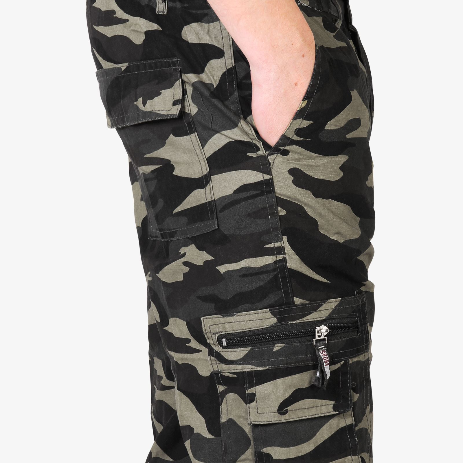 Mens-Combat-Military-Army-Camouflage-Cargo-Camo-Trousers-Pants-Casual-Work-Sizes thumbnail 3