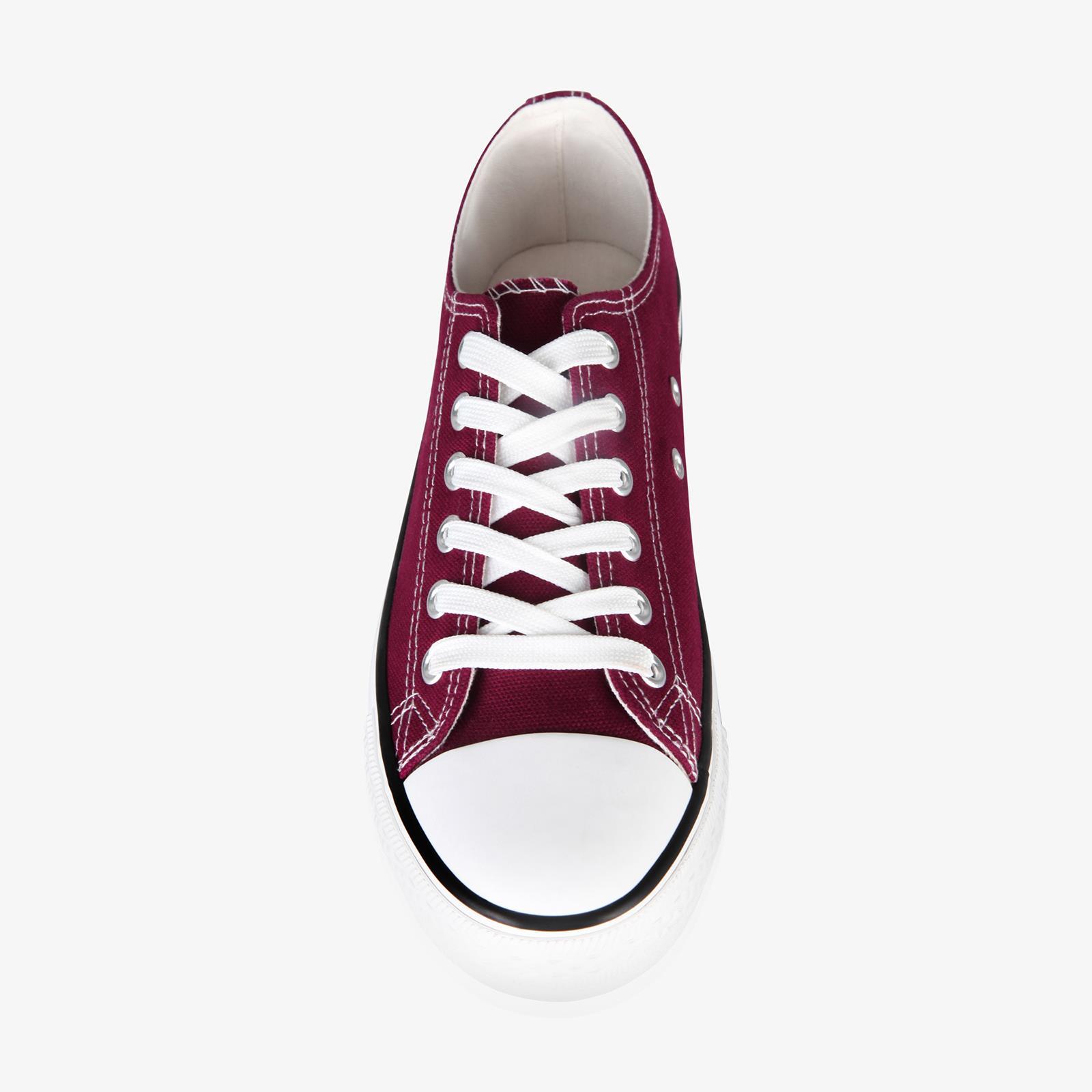 Zapatillas-Mujer-Casuales-Deportiva-Barata-Lona-Moda-Originales-Outlet-Tela-Moda miniatura 14