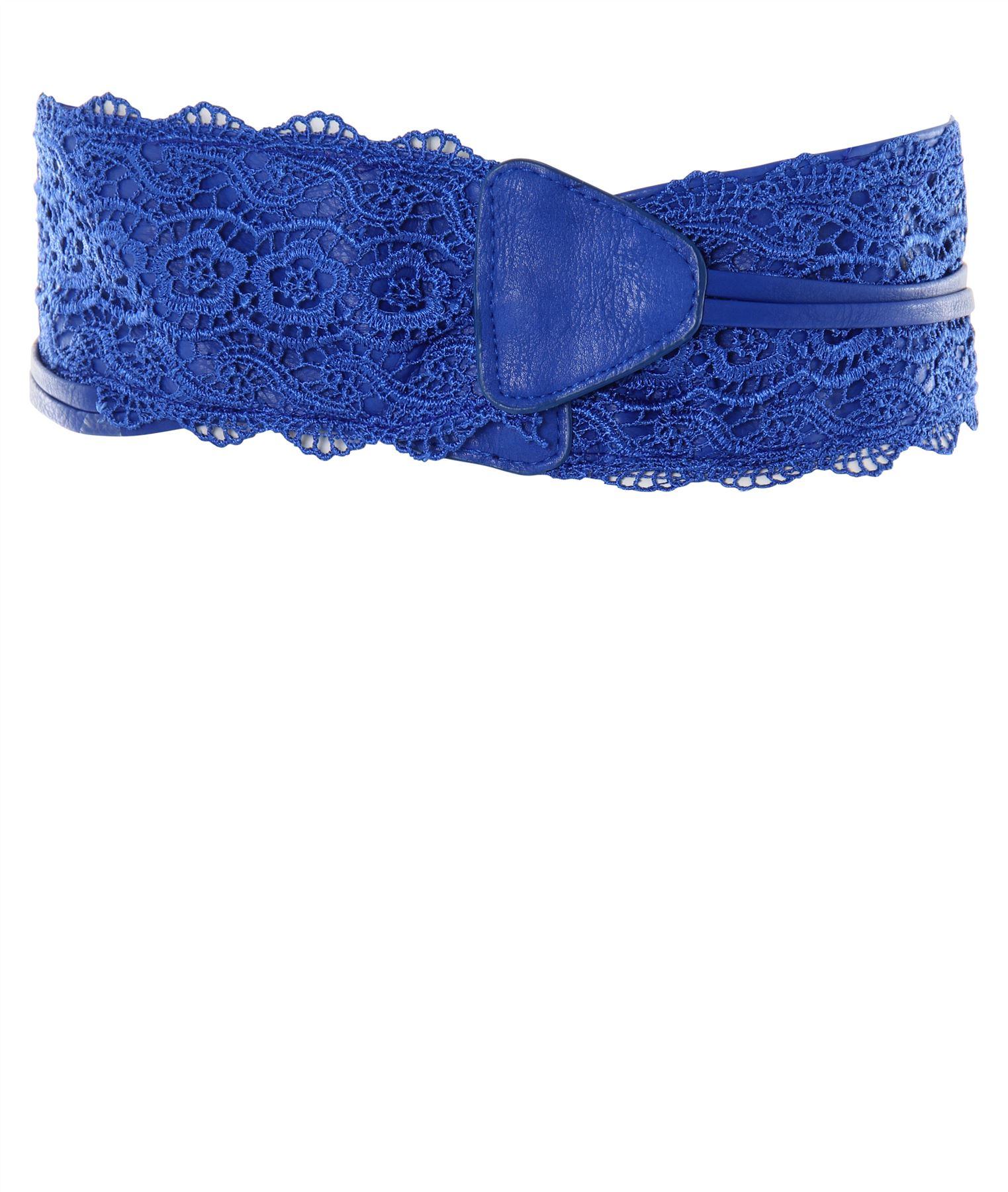thumbnail 51 - Womens-Ladies-Wide-Waist-Belt-Floral-Waistband-Pattern-Band-Crochet-Lace-Corset
