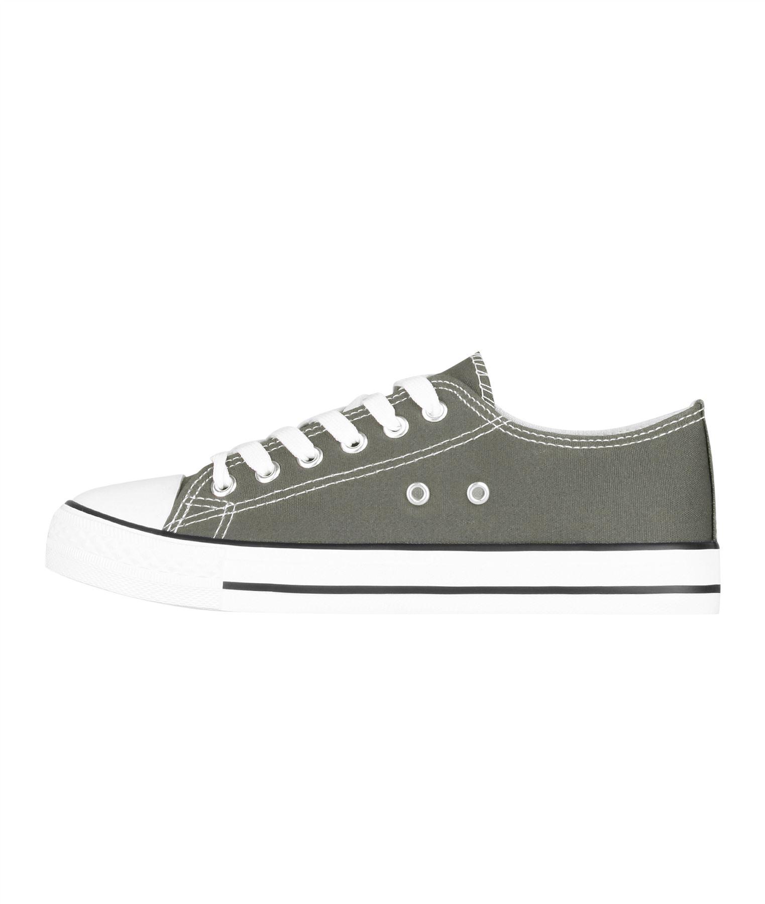 Zapatillas-Mujer-Casuales-Deportiva-Barata-Lona-Moda-Originales-Outlet-Tela-Moda miniatura 21