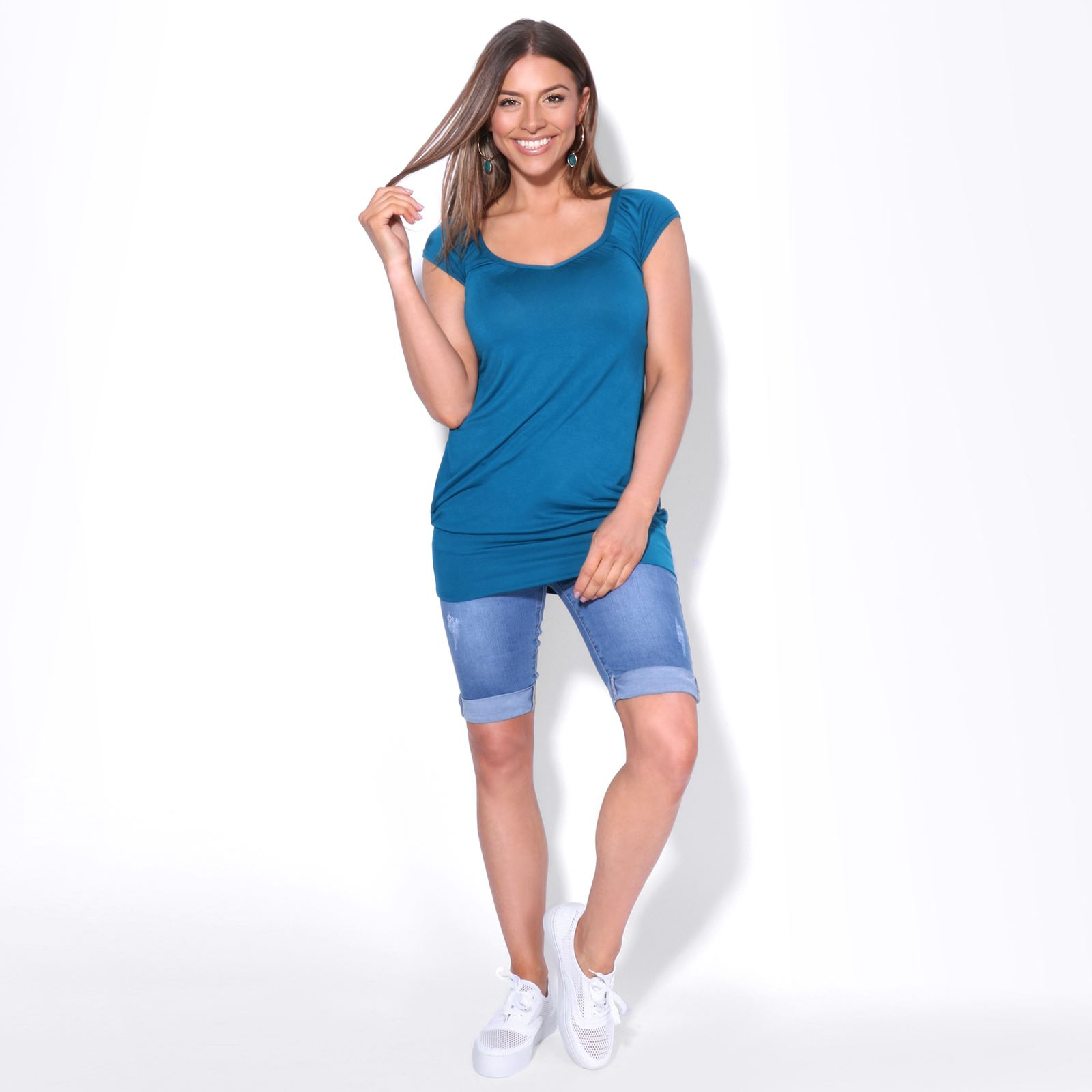 You new low neck womens tops sexy 8596