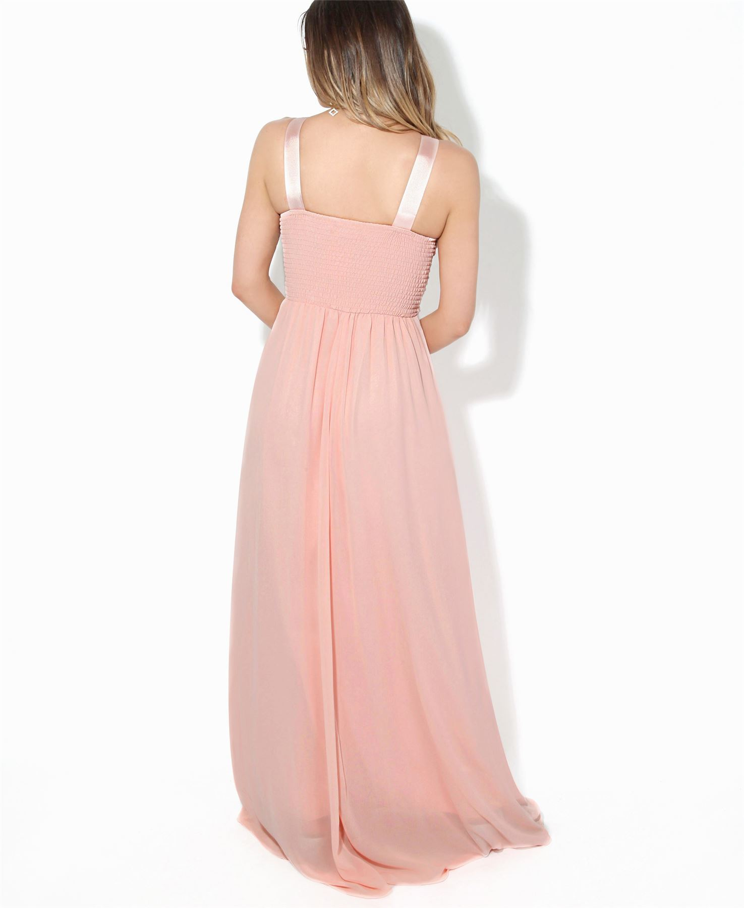 Women-Formal-Diamante-Wedding-Cocktail-Dress-Long-Ball-Gown-Prom-Maxi-Party-8-18 thumbnail 13