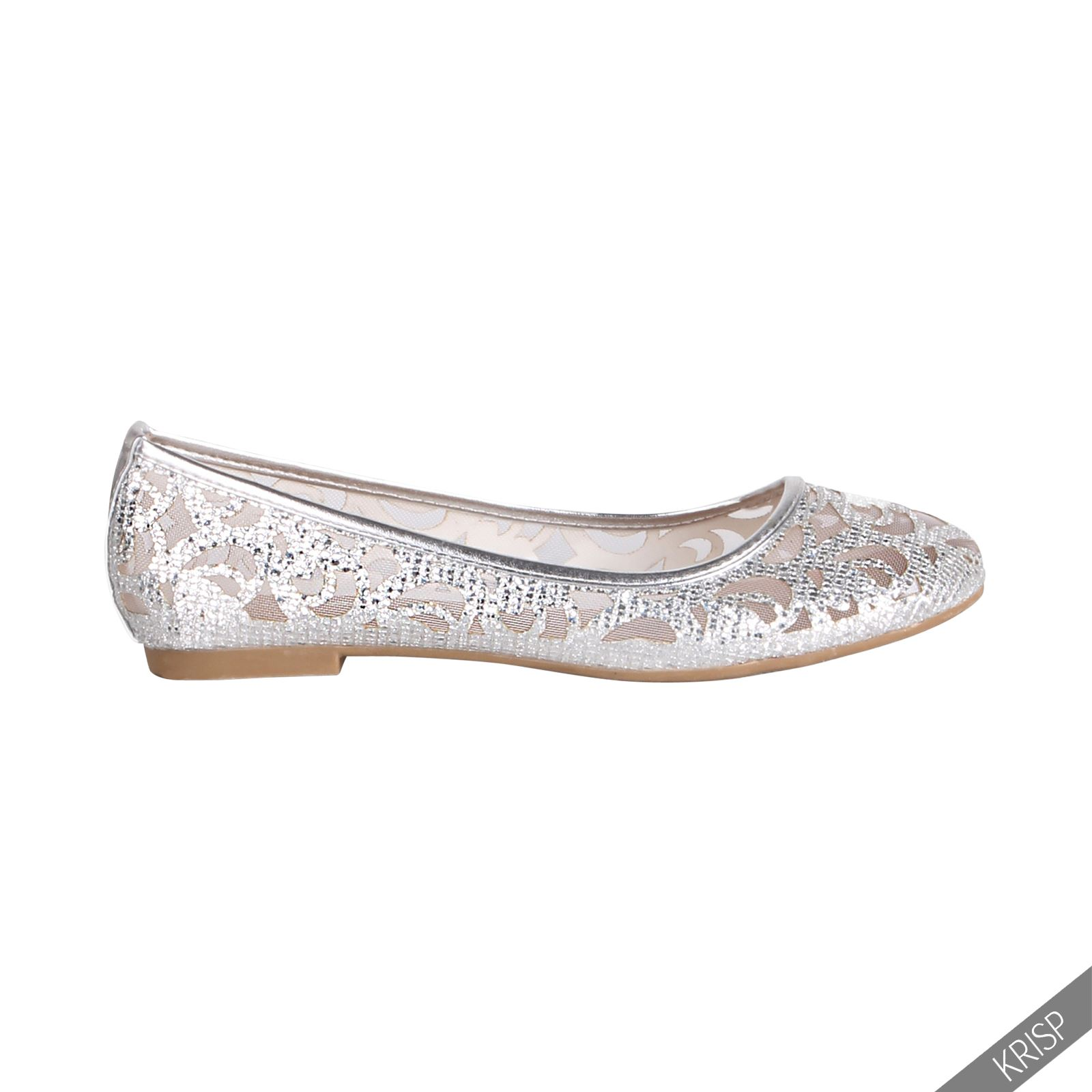 BD Fashion Silver Ballerinas 2015 new cheap online good selling VeRME
