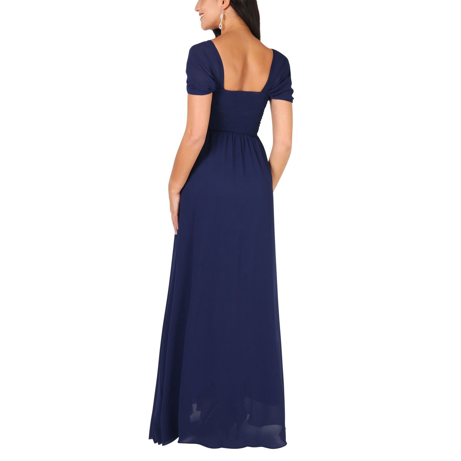 Womens-Formal-Evening-Wedding-Maxi-Prom-Dress-Long-On-Off-Shoulder-Ball-Gown thumbnail 38
