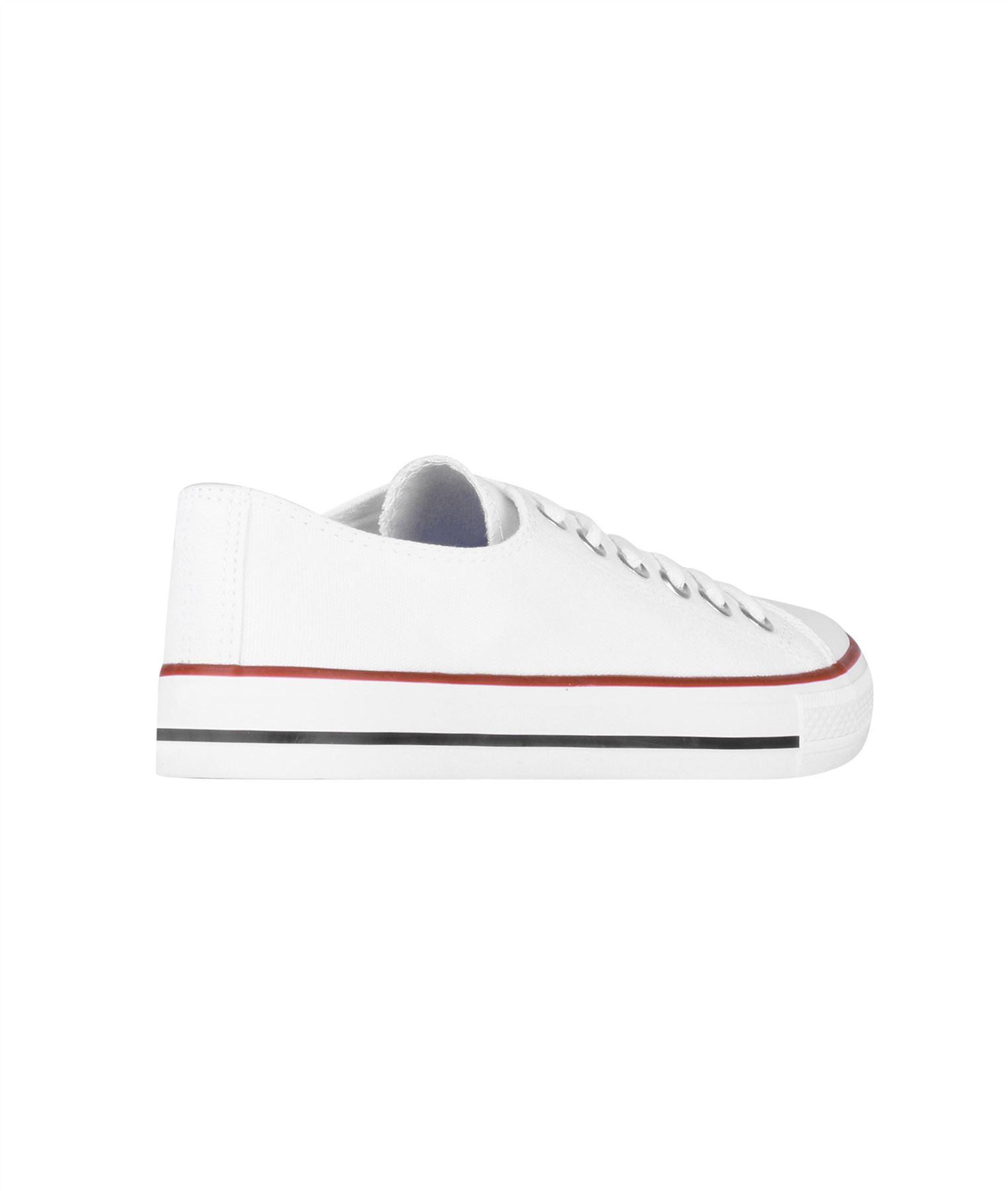 Zapatillas-Mujer-Casuales-Deportiva-Barata-Lona-Moda-Originales-Outlet-Tela-Moda miniatura 10
