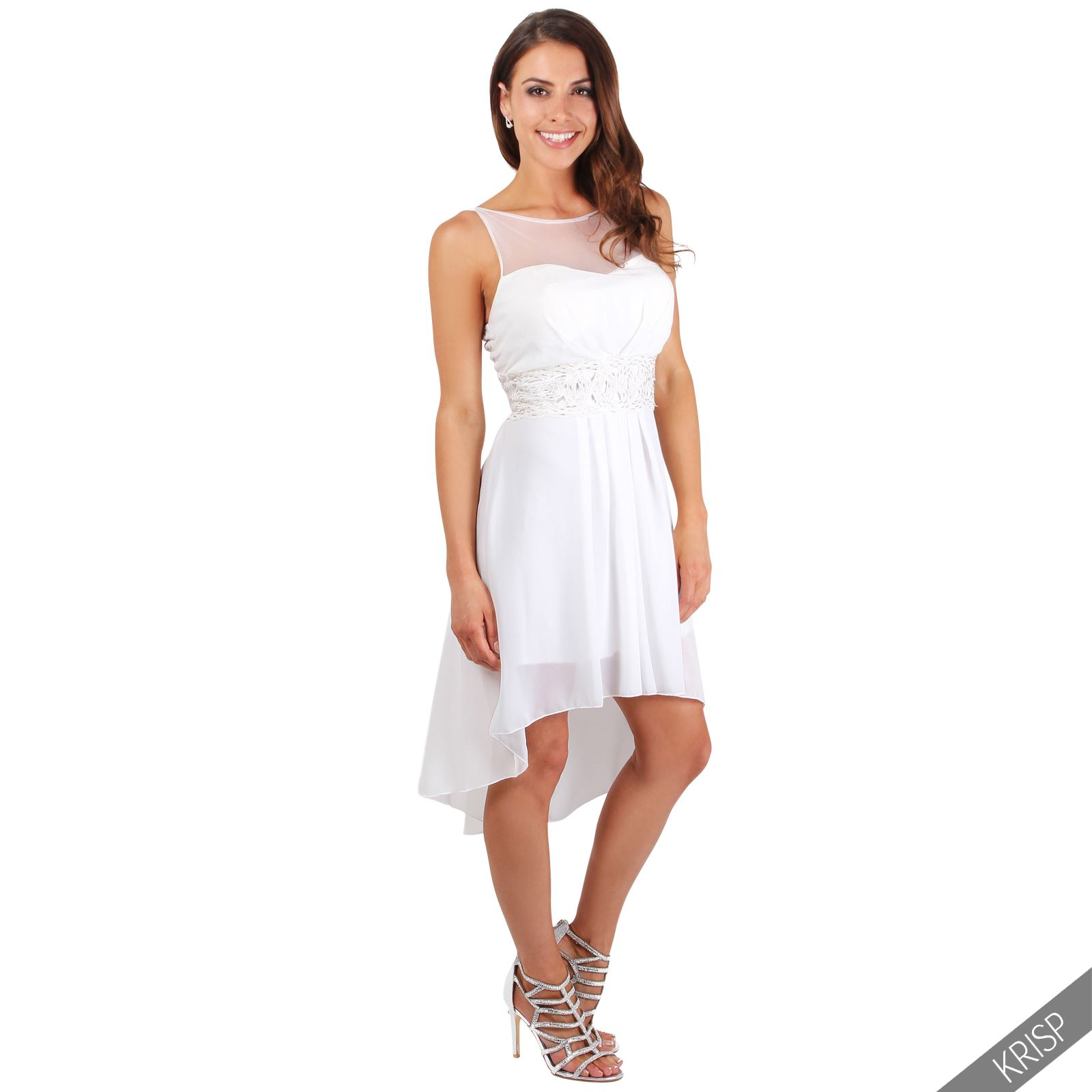 Womens ladies cocktail bridesmaid wedding fishtail summer for Formal summer dresses for weddings