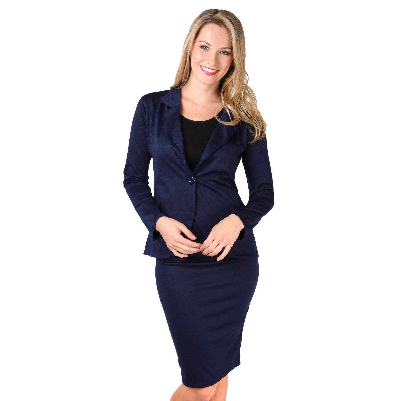Womens Workwear Amp up your office wardrobe with our gorgeous range of stylish women's workwear. Our huge selection of skirt and trouser suits, formal dresses and jackets will ensure you're always dressed to impress.