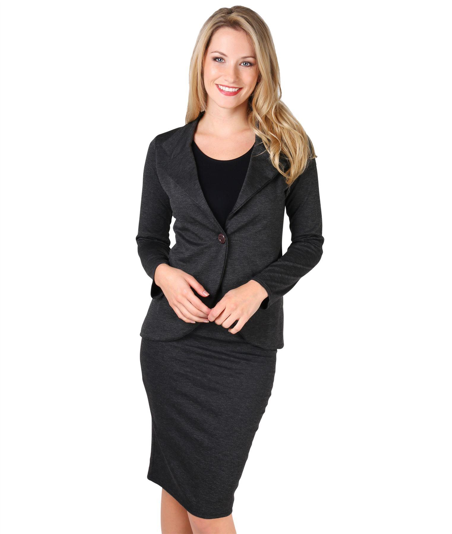 Womens-Ladies-Pencil-Skirt-Midi-Knee-Long-High-Waist-Work-Office-Business-Smart thumbnail 6