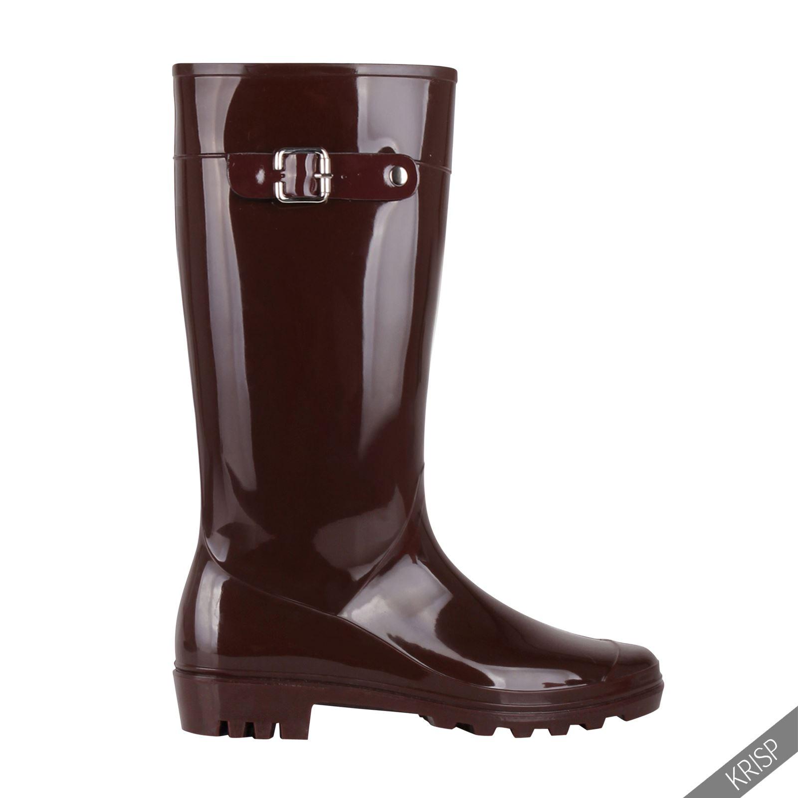 Botas-Agua-Mujer-Barata-Original-Botines-Moda-Comodas-Calzado-Elastico-Juveniles miniatura 22