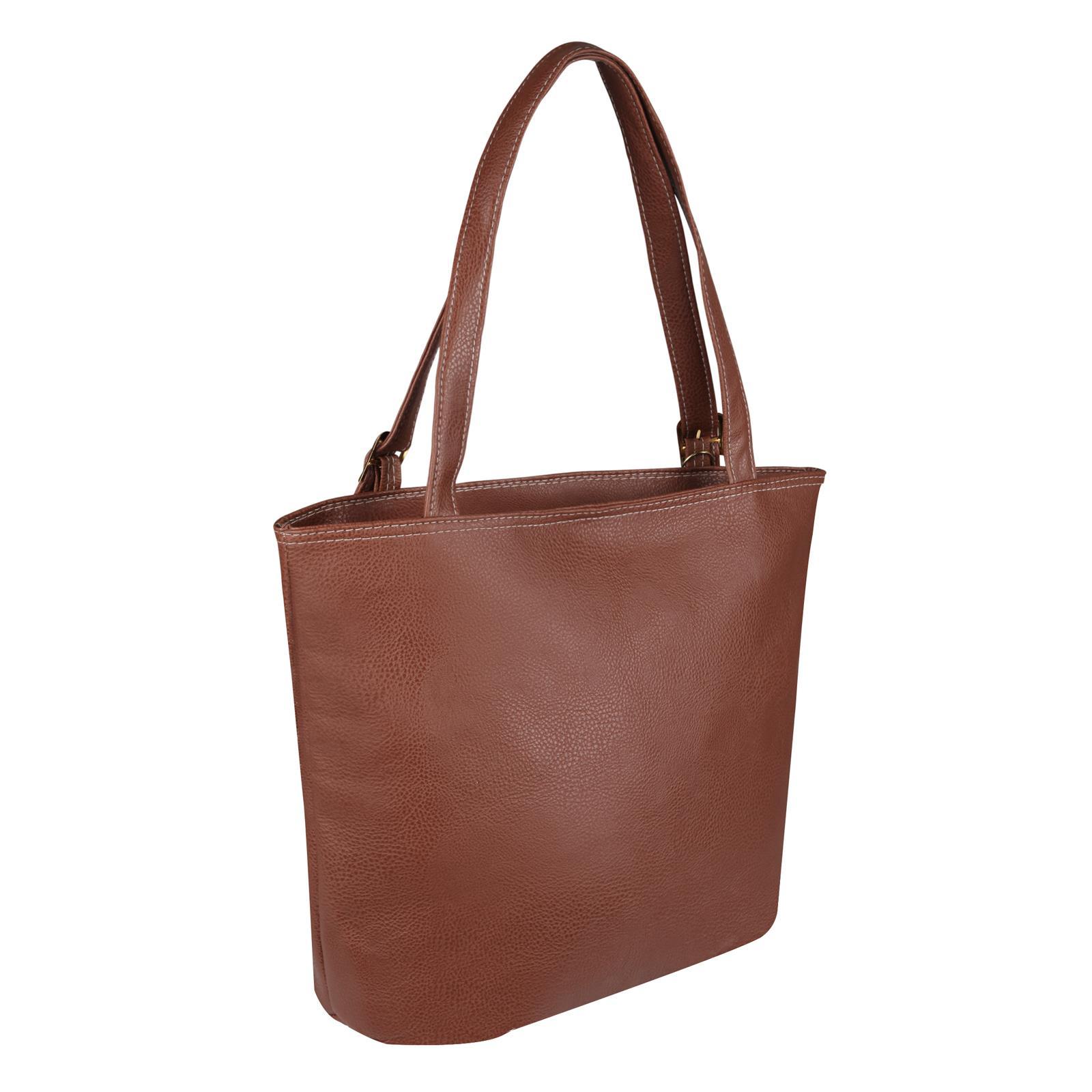 Animal-Print-Handbag-PU-Leather-Shoulder-Bag-Work-Office-Tote-Shopper-Fashion thumbnail 13
