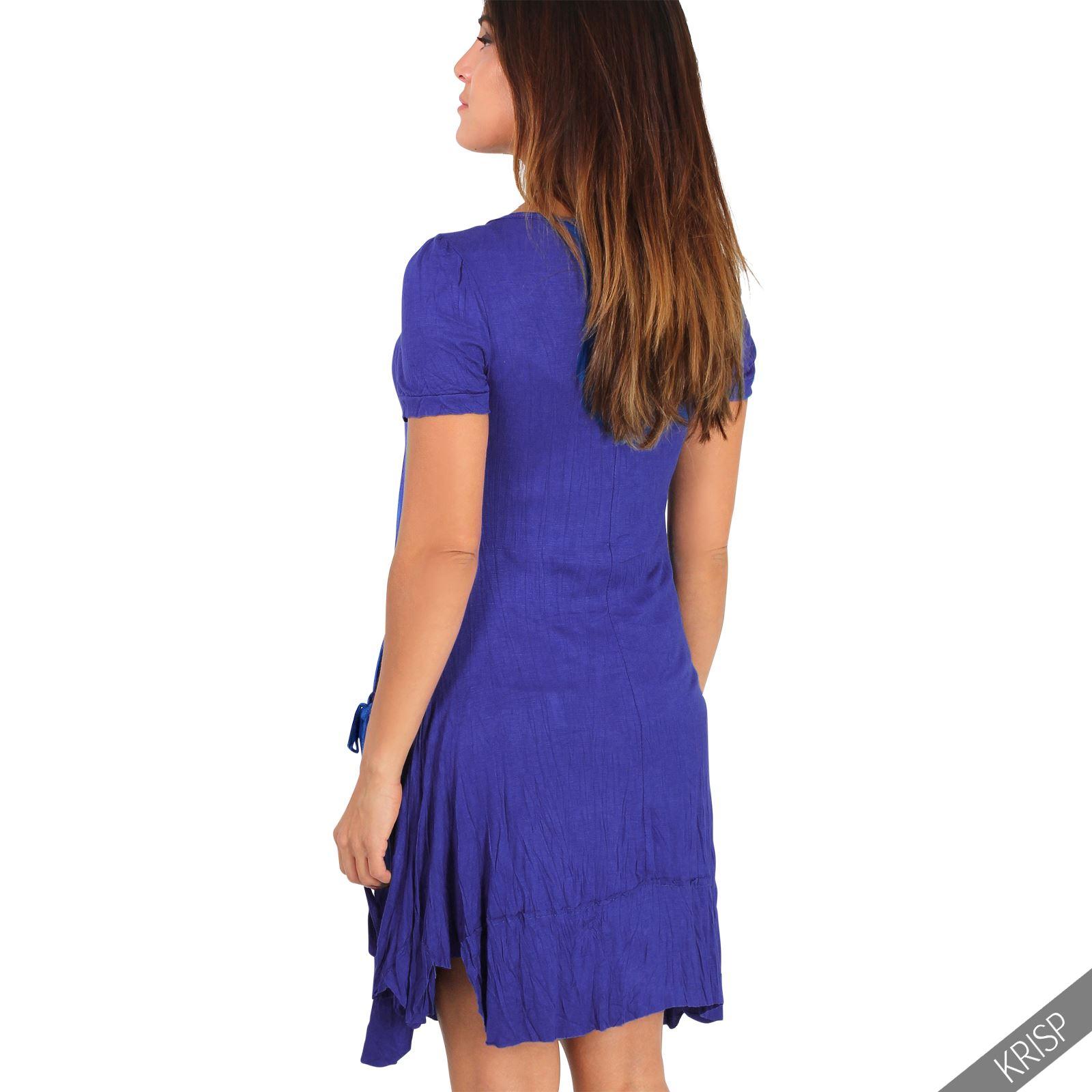 Vestido Corto Mujer Casual Joven Original Juvenil Talla Grande ...