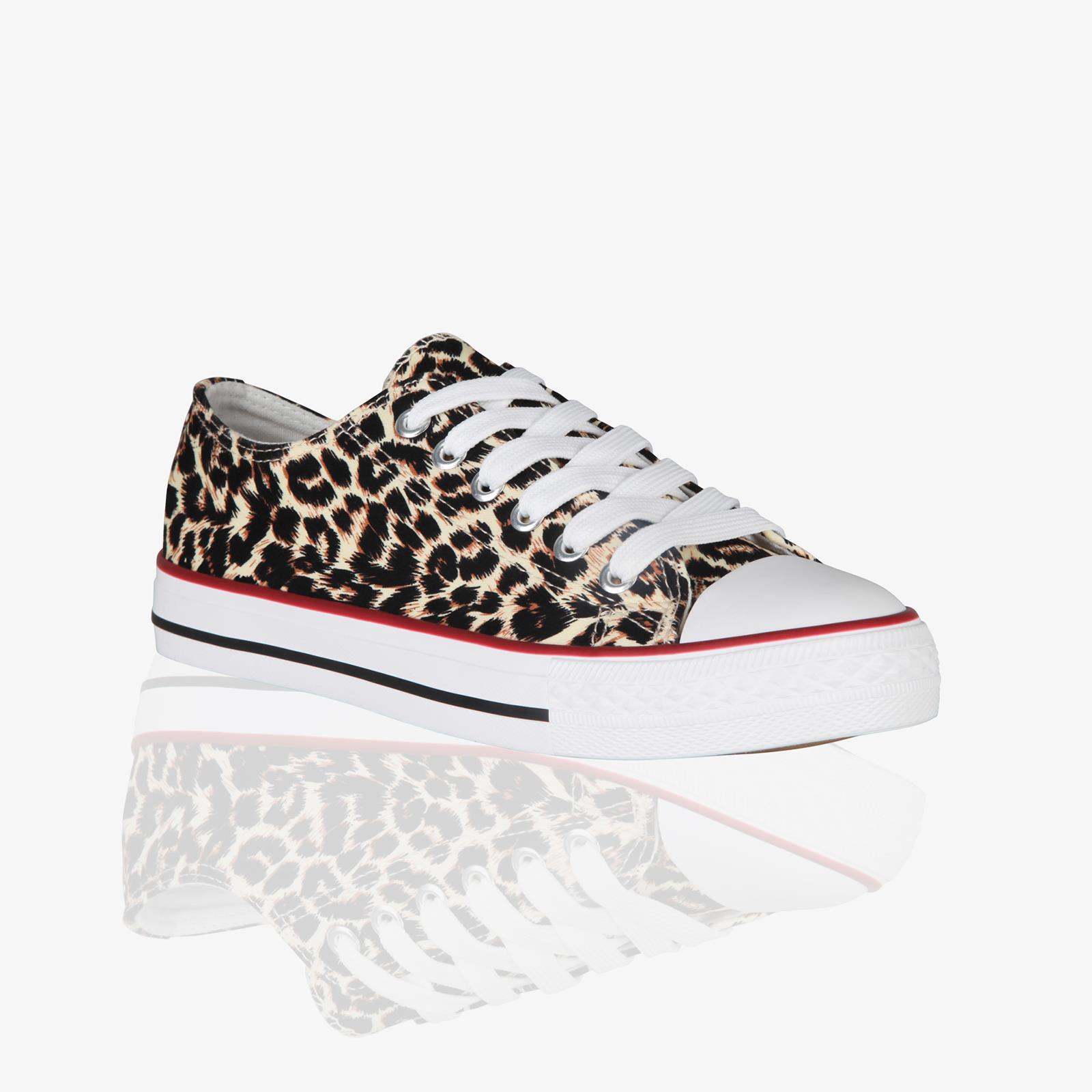 Zapatillas-Mujer-Casuales-Deportiva-Barata-Lona-Moda-Originales-Outlet-Tela-Moda miniatura 23