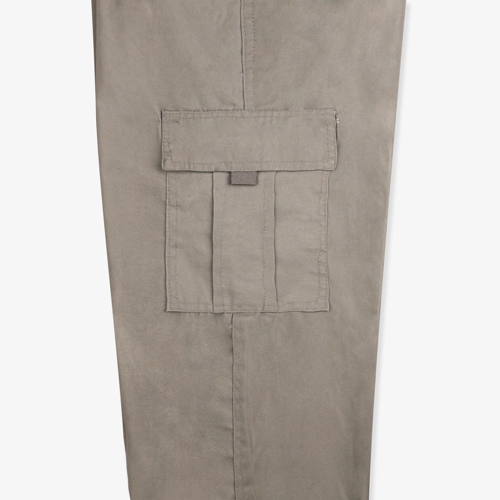 Pantalon-Homme-Cargo-Militaire-Ample-Poche-Grande-Taille-Elastique-Travail miniature 20