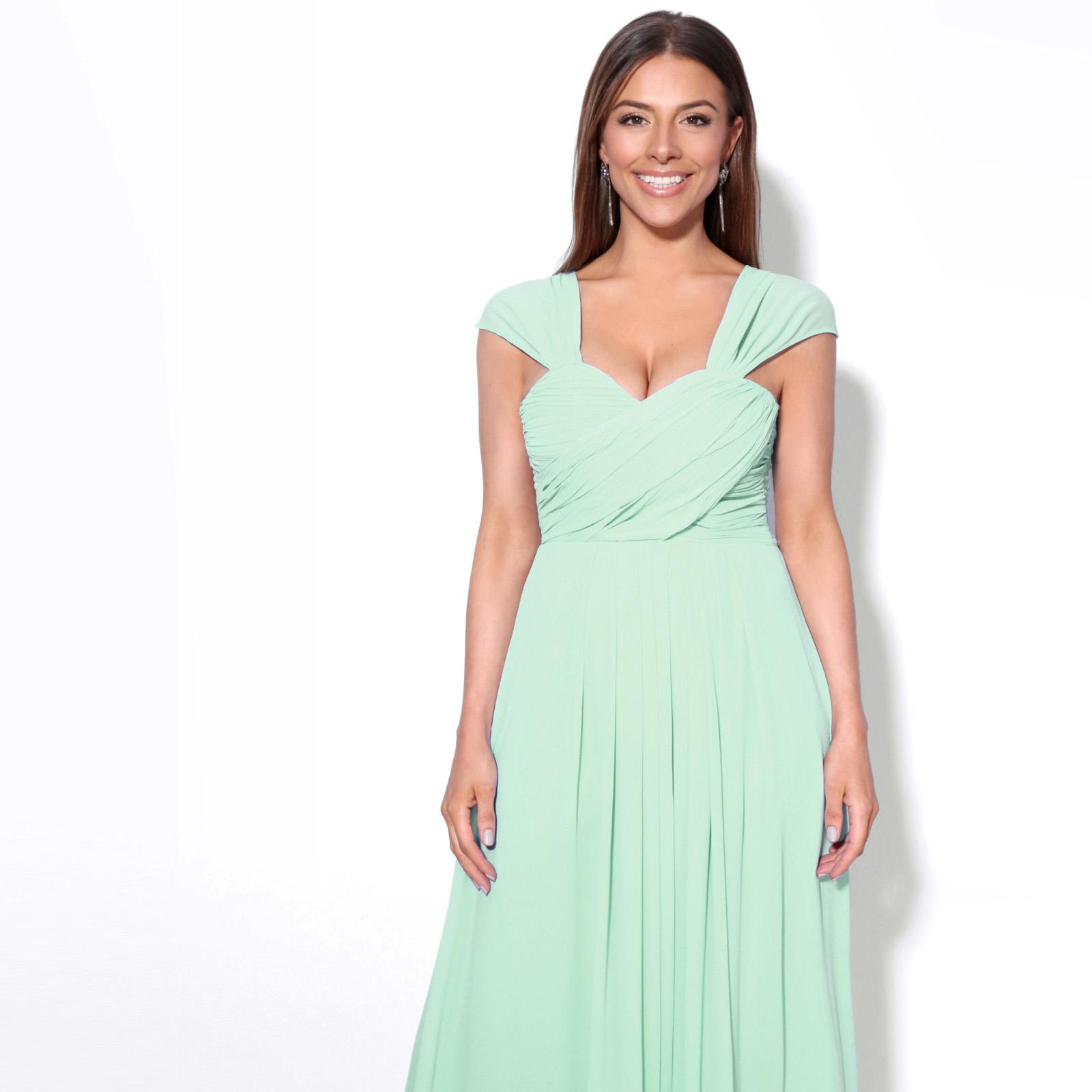 Womens-Formal-Evening-Wedding-Maxi-Prom-Dress-Long-On-Off-Shoulder-Ball-Gown thumbnail 35