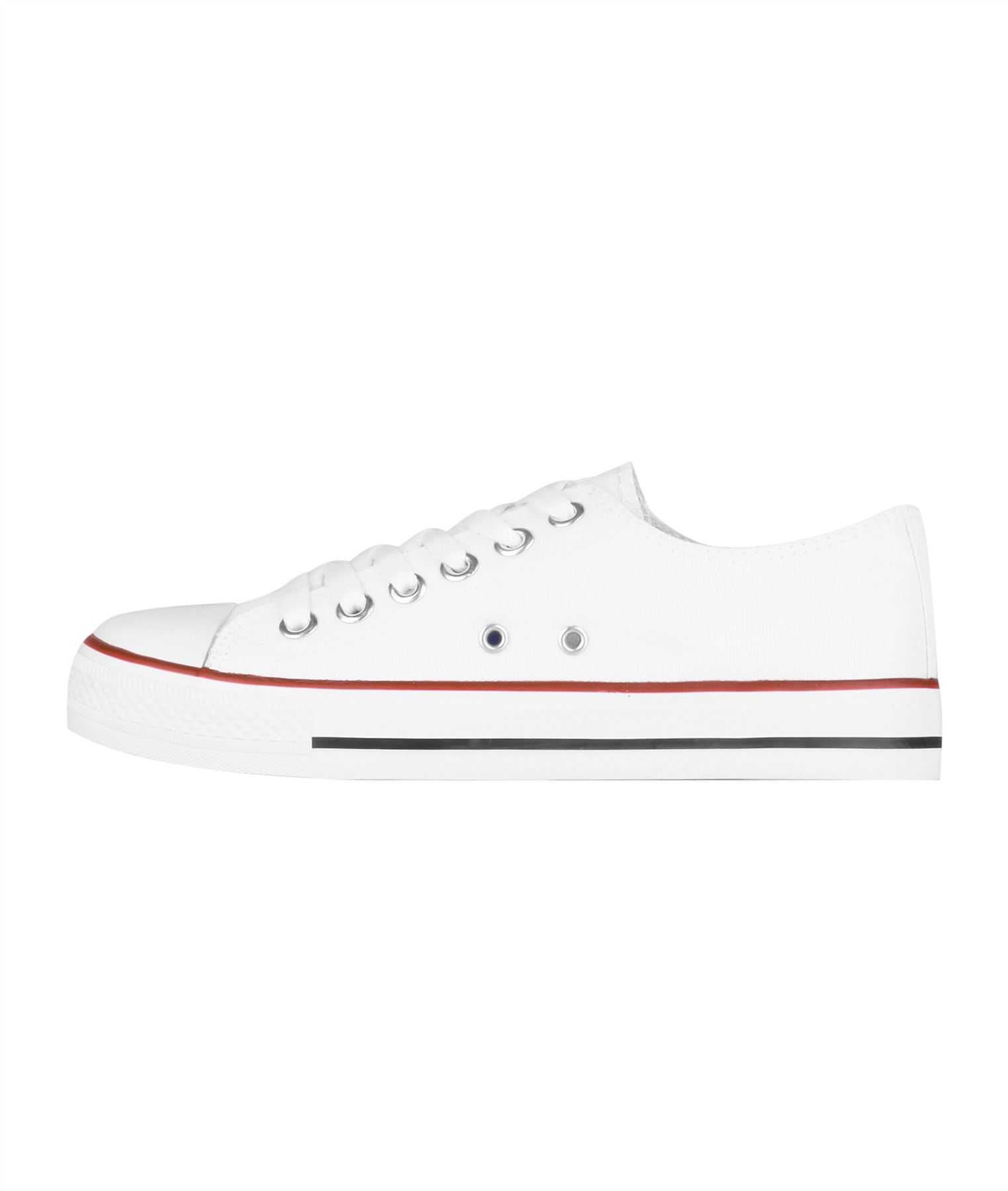 Zapatillas-Mujer-Casuales-Deportiva-Barata-Lona-Moda-Originales-Outlet-Tela-Moda miniatura 11