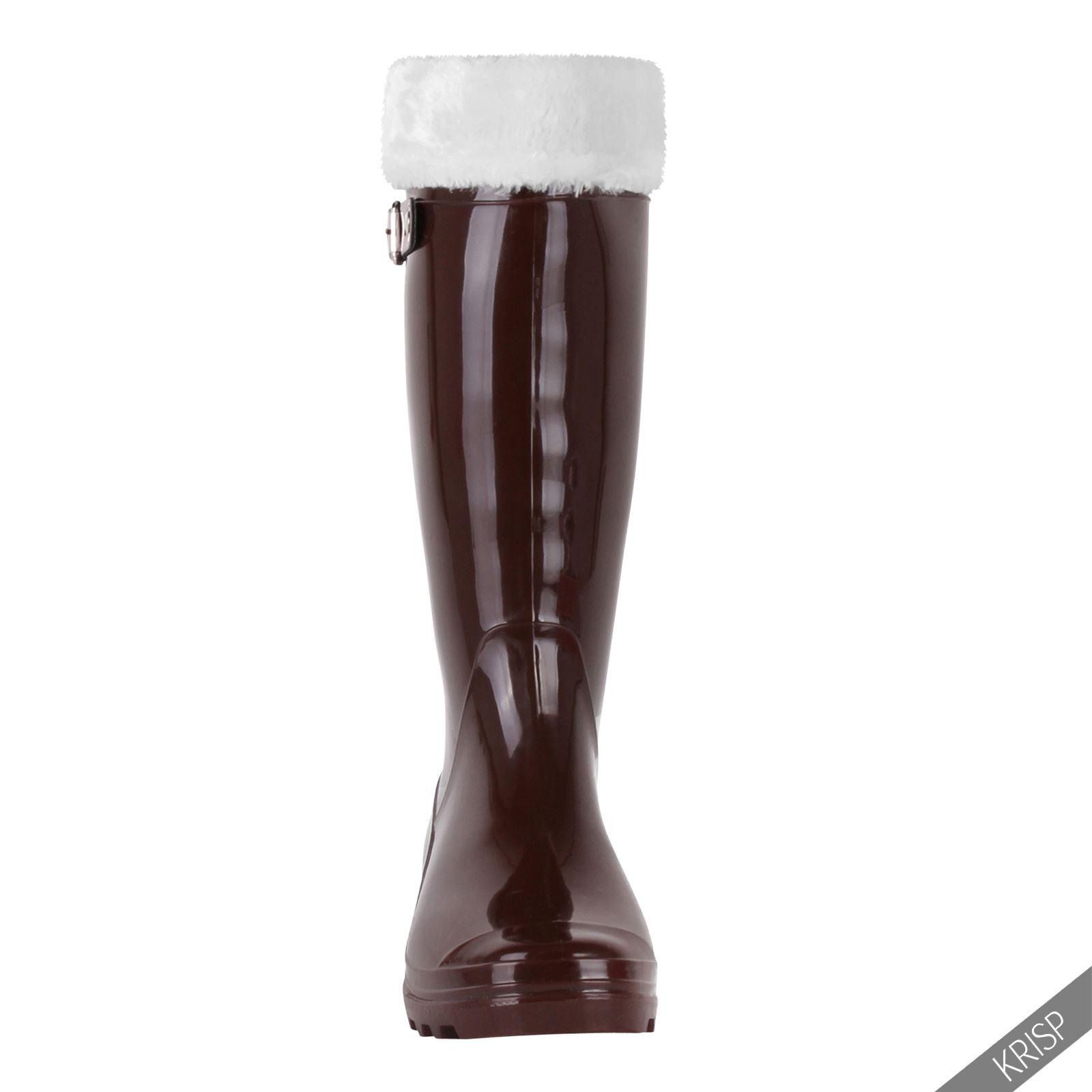 Botas-Agua-Mujer-Barata-Original-Botines-Moda-Comodas-Calzado-Elastico-Juveniles miniatura 19