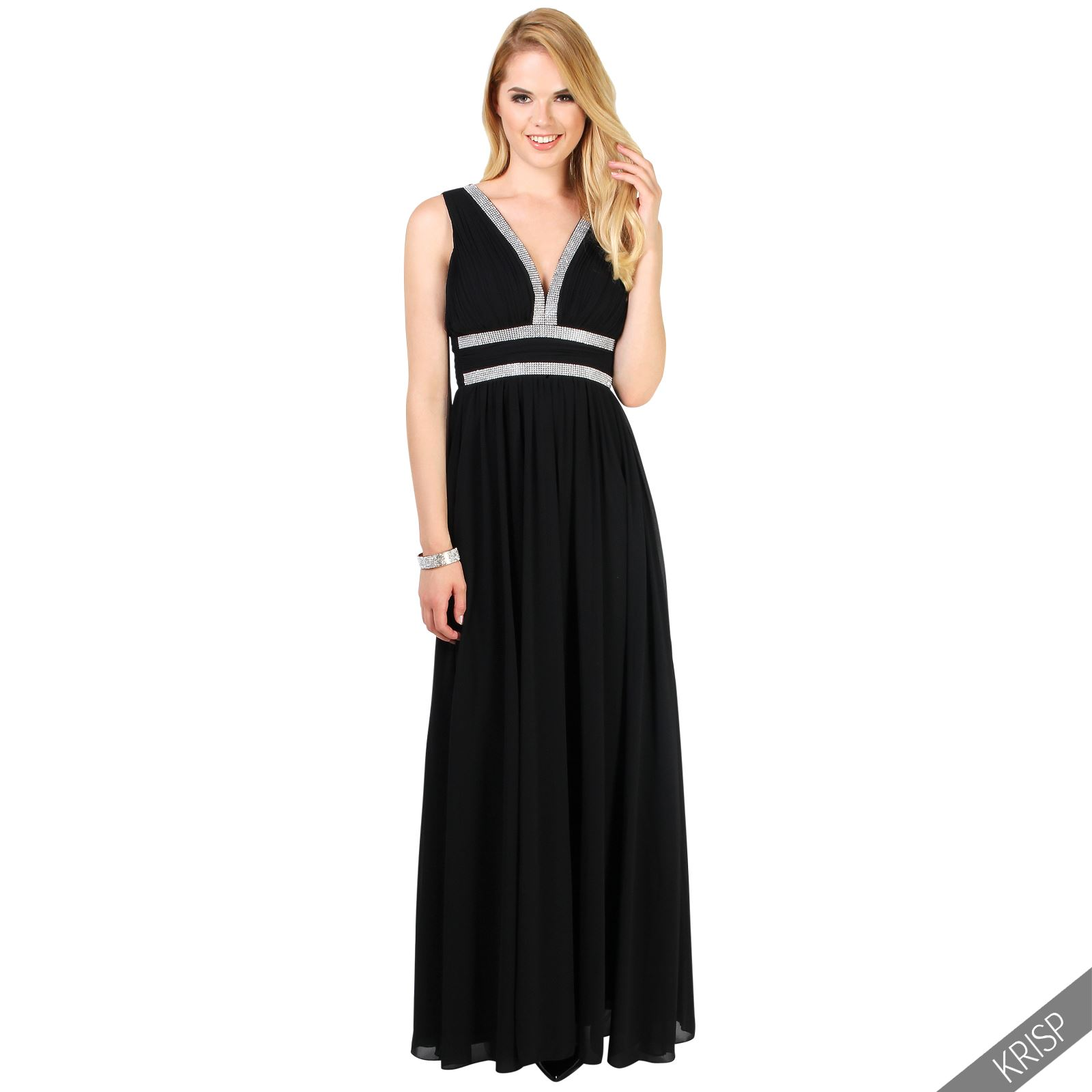 Ladies formal long prom maxi dress evening ball gown for Shoes for maxi dress wedding