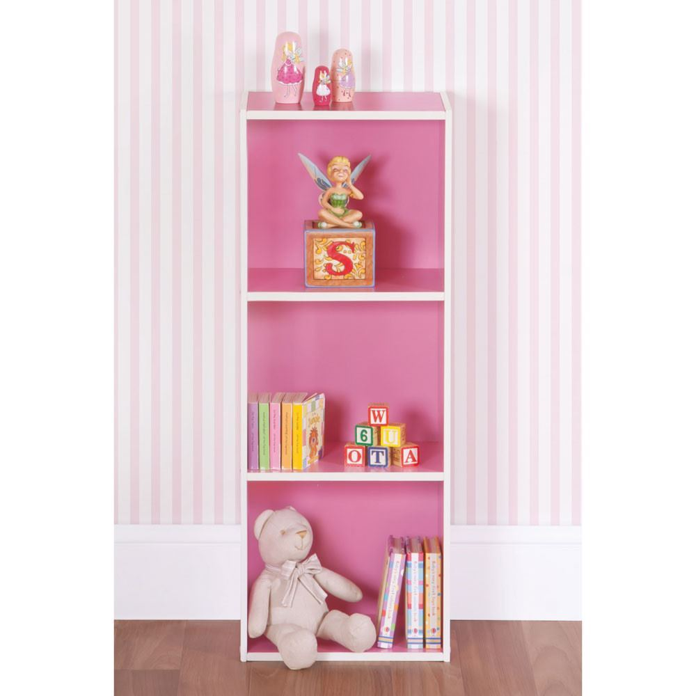 and uk white pink kitchen heart amazon home children childrens tier co dp s bookcase