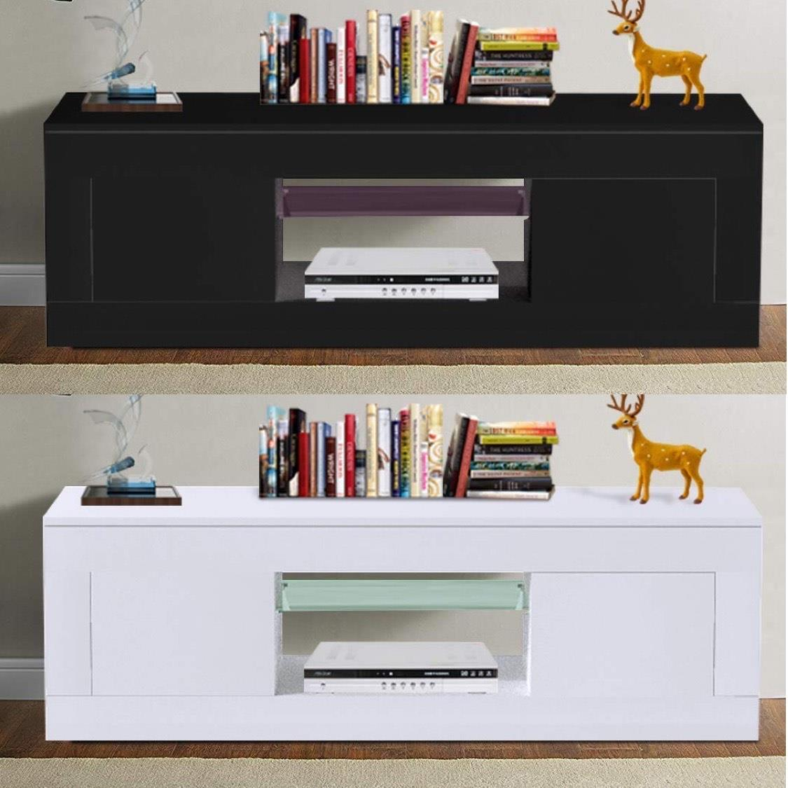 Details about NEW TV Stand Cabinet Unit Modern TV Living Room Home  Furniture High Gloss