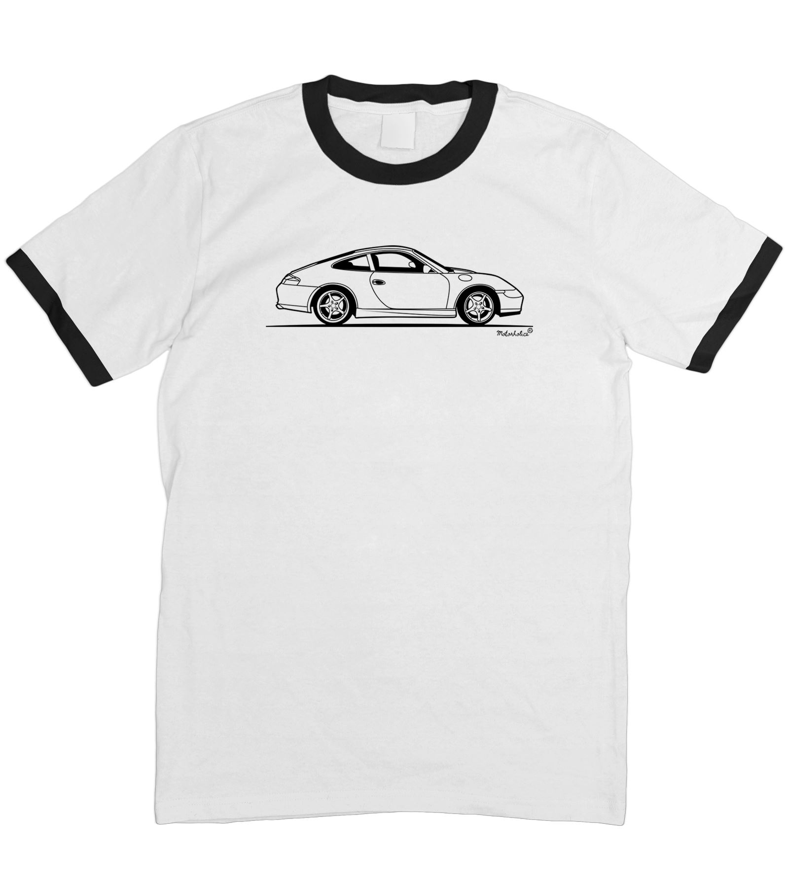 motorholics mens original sketch porsche 911 996 t shirt s. Black Bedroom Furniture Sets. Home Design Ideas