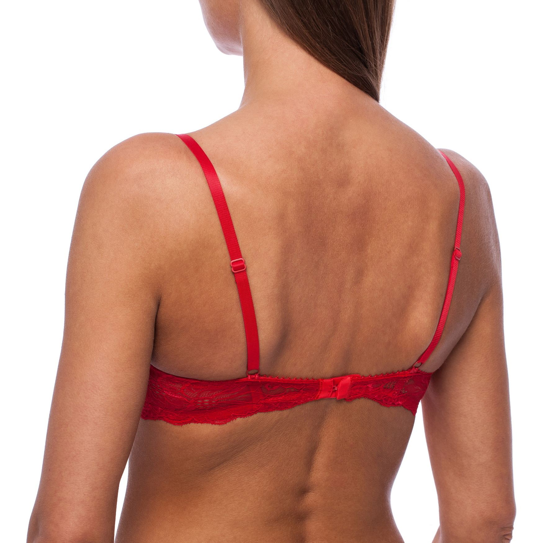 Balconette-Demi-Underwire-Lightly-Padded-Sexy-Comfortable-Lace-Half-Cup-Bra thumbnail 24