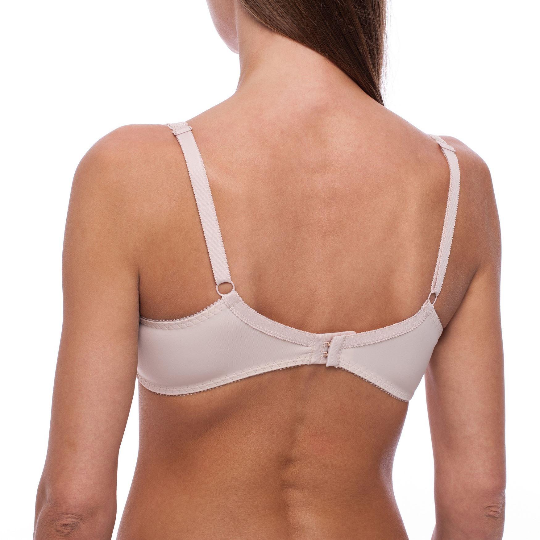 Minimizer-Plus-Size-Sheer-Lace-Unlined-Comfort-Full-Coverage-Sleep-Figure-Bra thumbnail 4