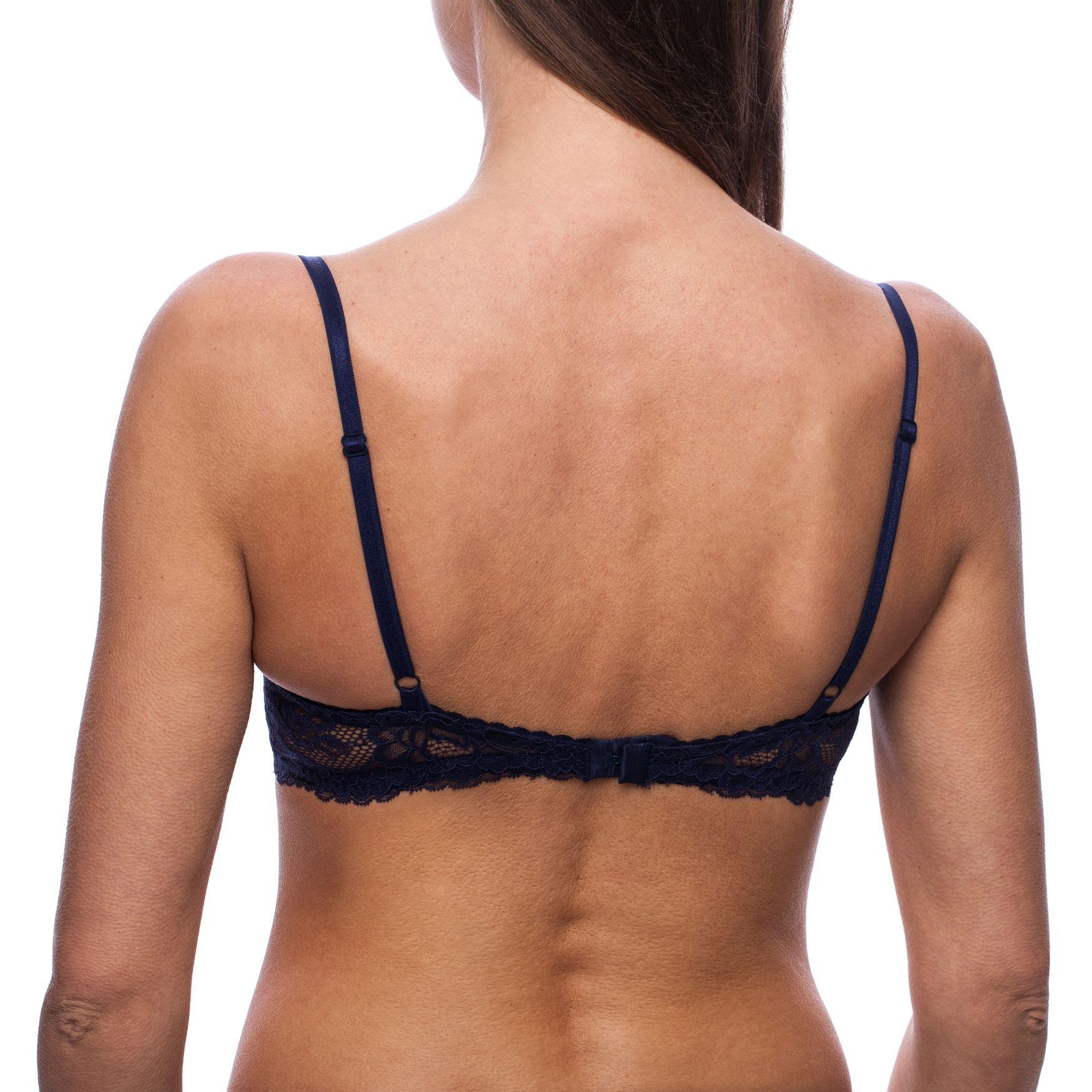 Soutien-gorge-dentelle-Avec-armature-Sexy-Emboitant-Grande-taille-Femme miniature 4