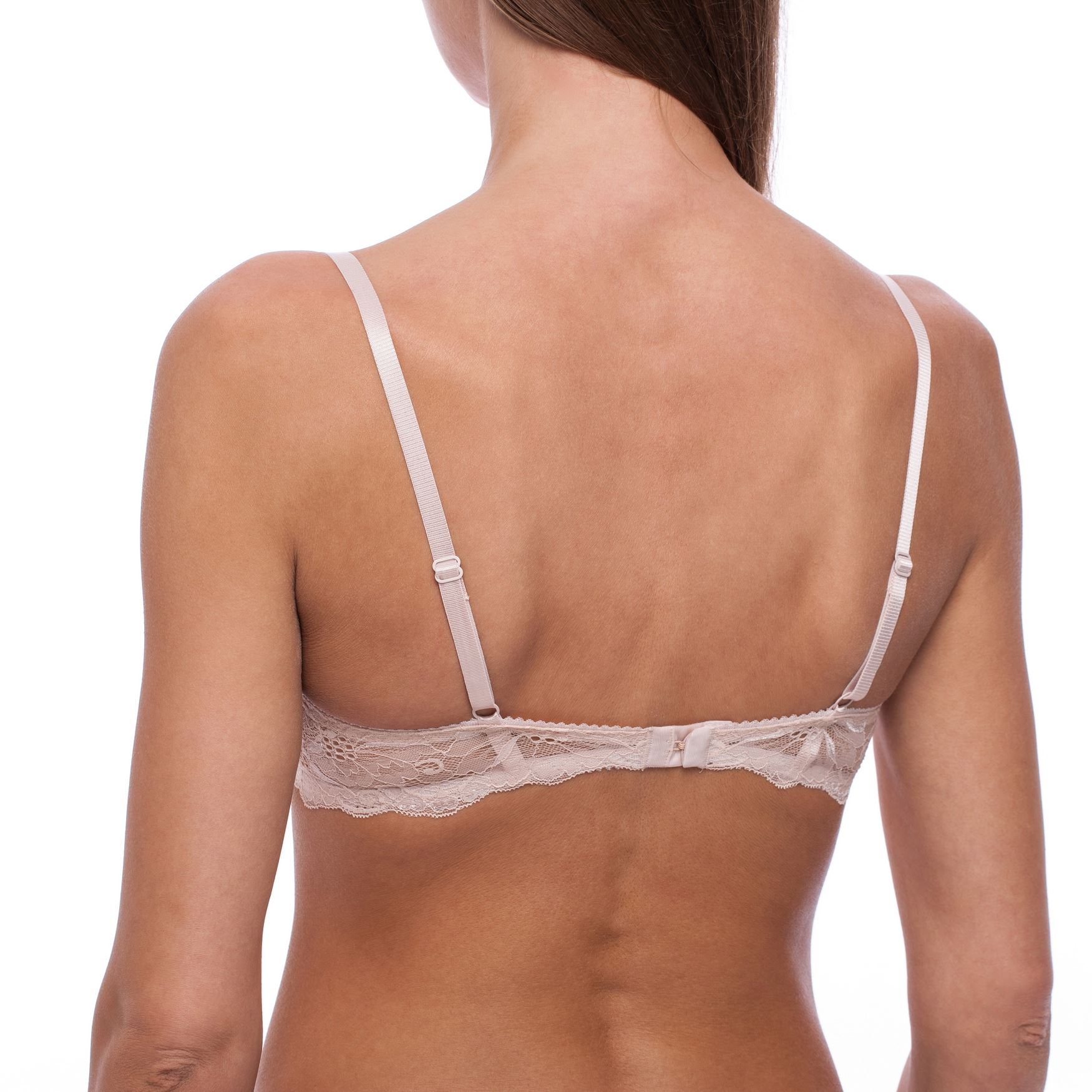 Balconette-Demi-Underwire-Lightly-Padded-Sexy-Comfortable-Lace-Half-Cup-Bra thumbnail 4