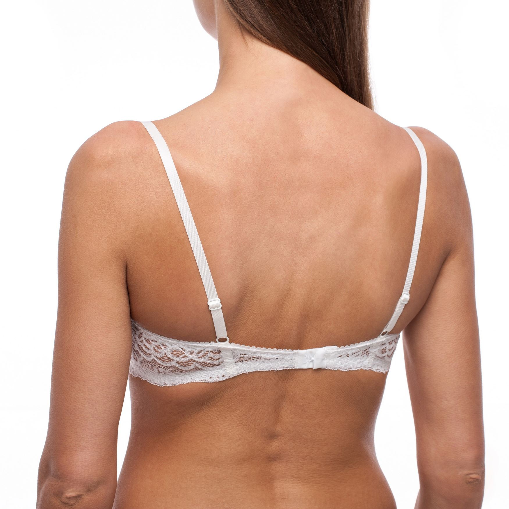 Balconette-Demi-Underwire-Lightly-Padded-Sexy-Comfortable-Lace-Half-Cup-Bra thumbnail 18