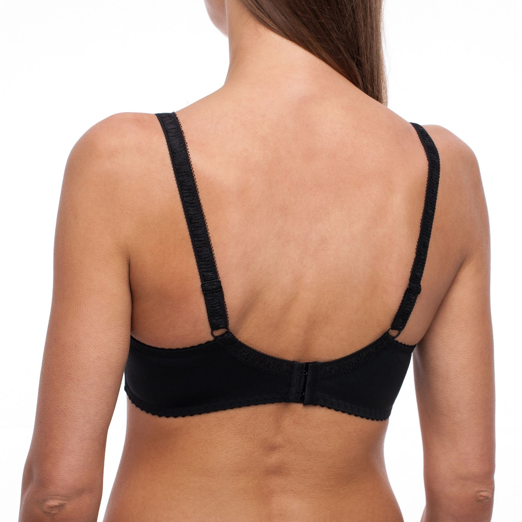 Minimizer-Plus-Size-Sheer-Lace-Unlined-Comfort-Full-Coverage-Sleep-Figure-Bra thumbnail 9