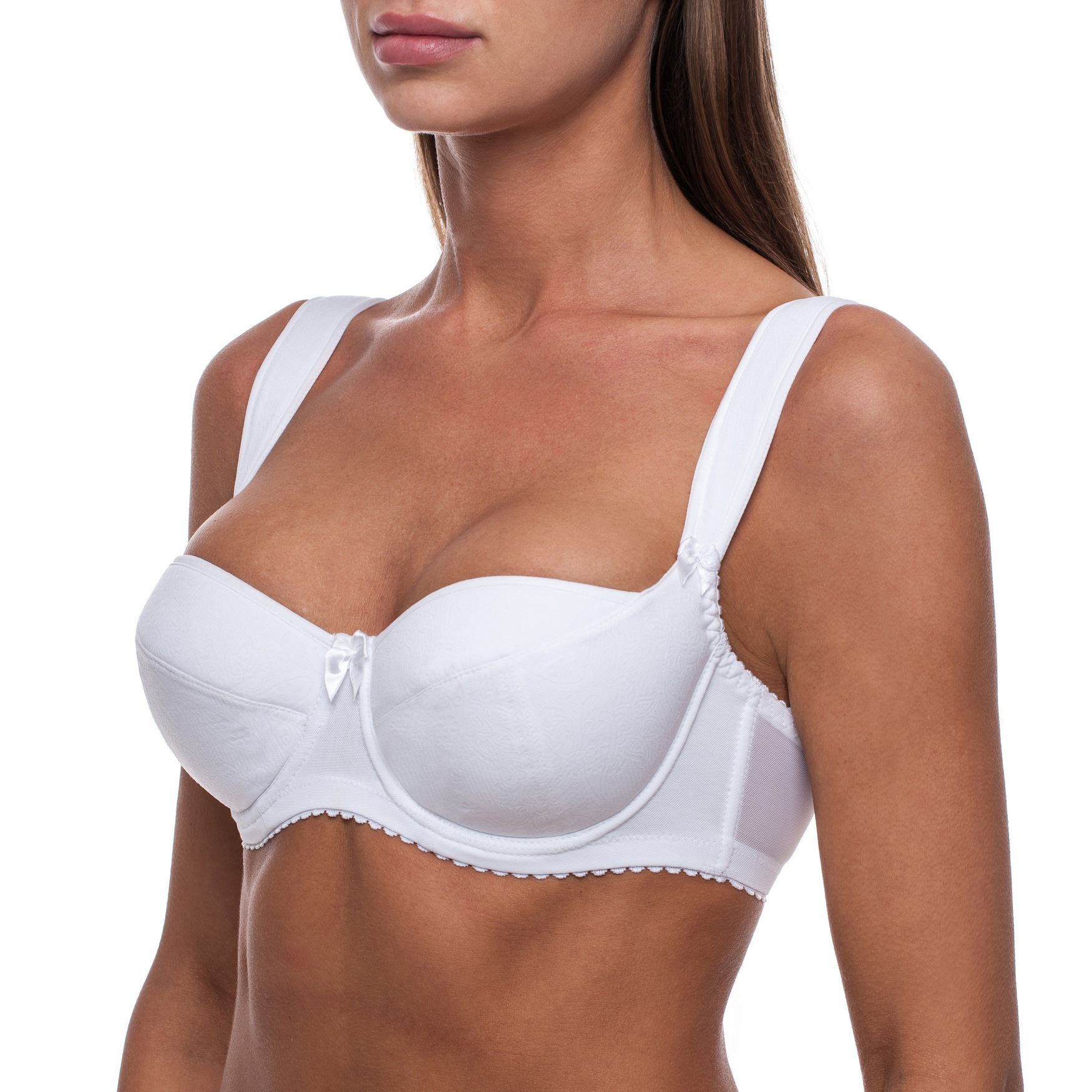 Sexy-Soutien-Gorge-Balconnet-Femmes-Coussinet-Semi-rembourre-Avec-armatures